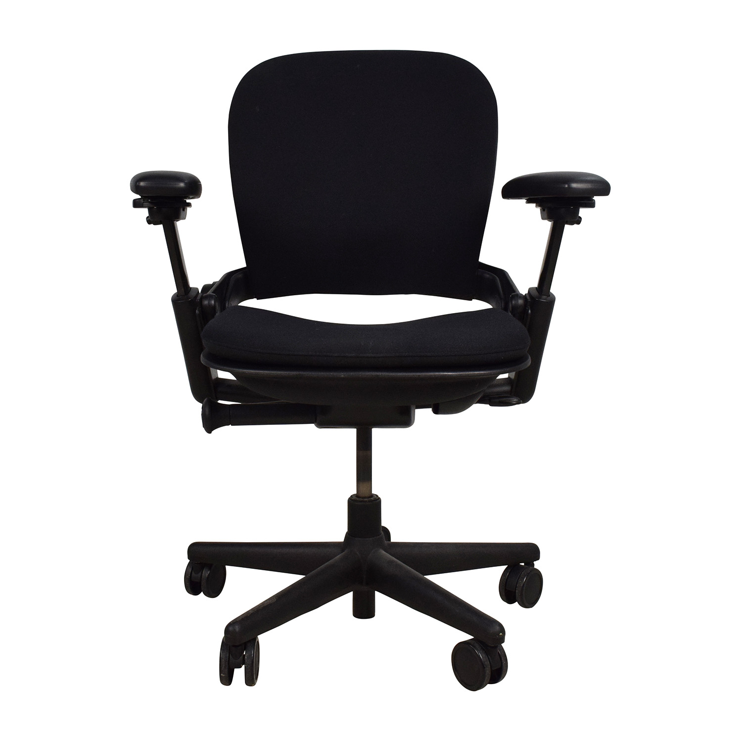 Adjustable Black Office Desk Chair for sale