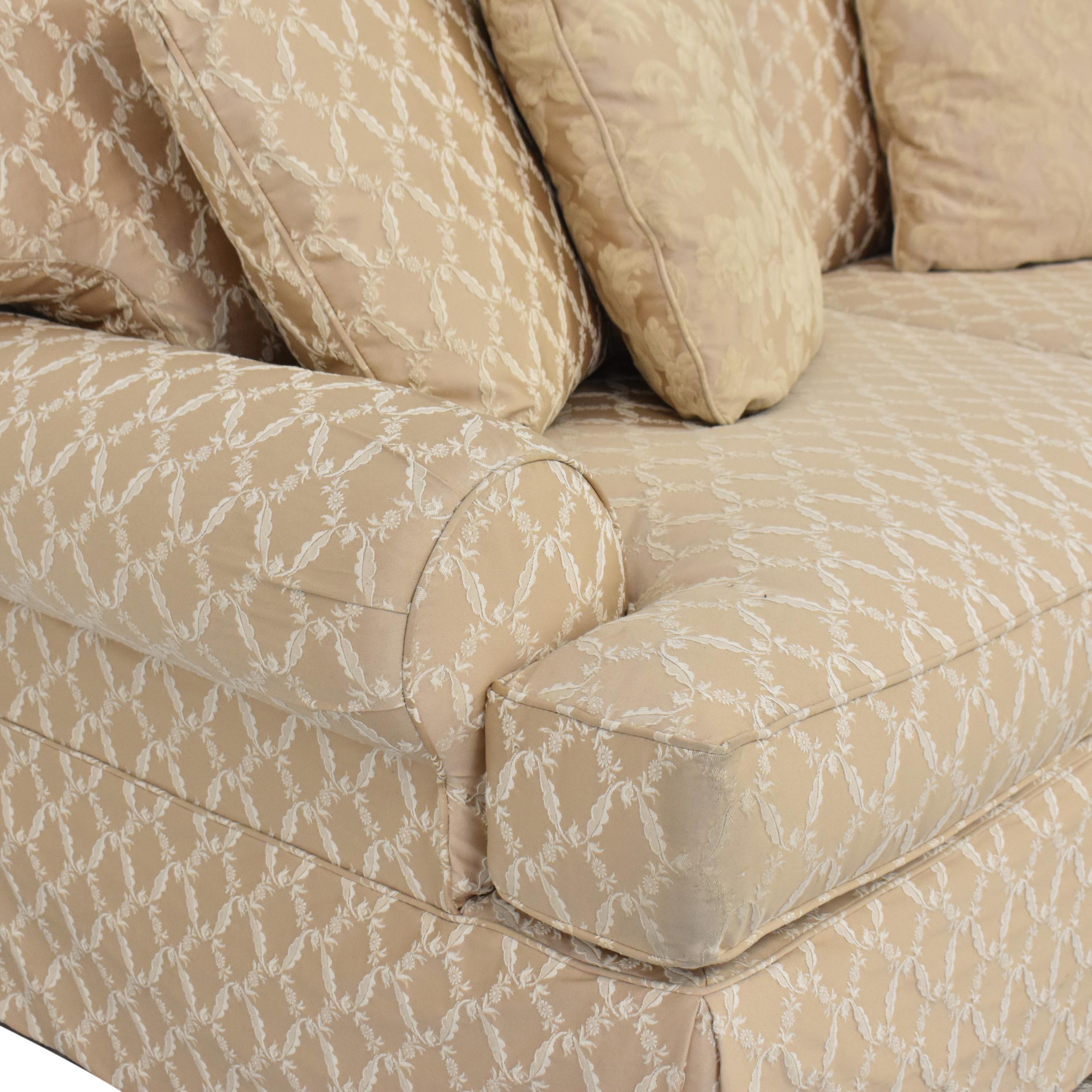 Domain Skirted Sofa sale