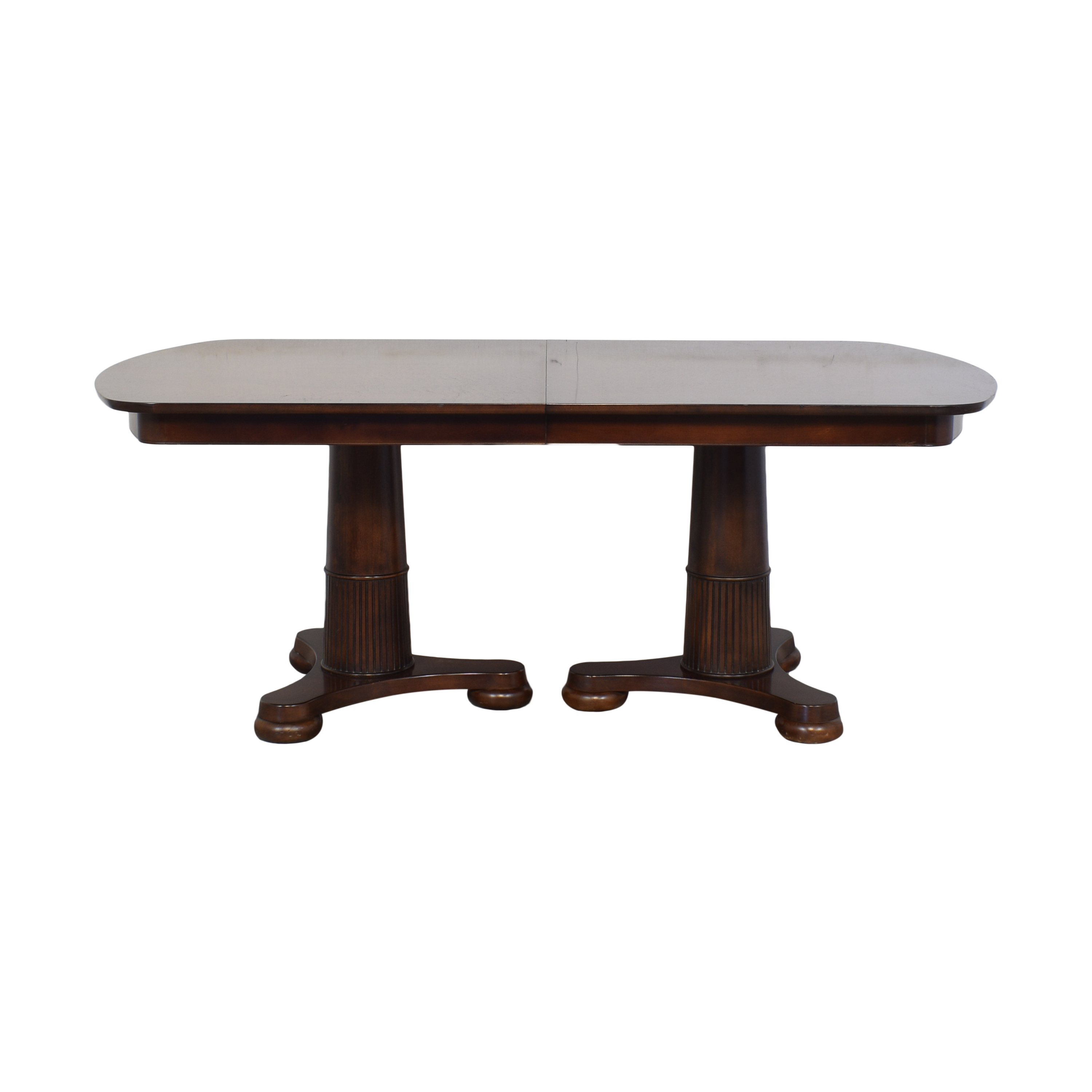 Macy's Macy's Extendable Pedestal Dining Table nj