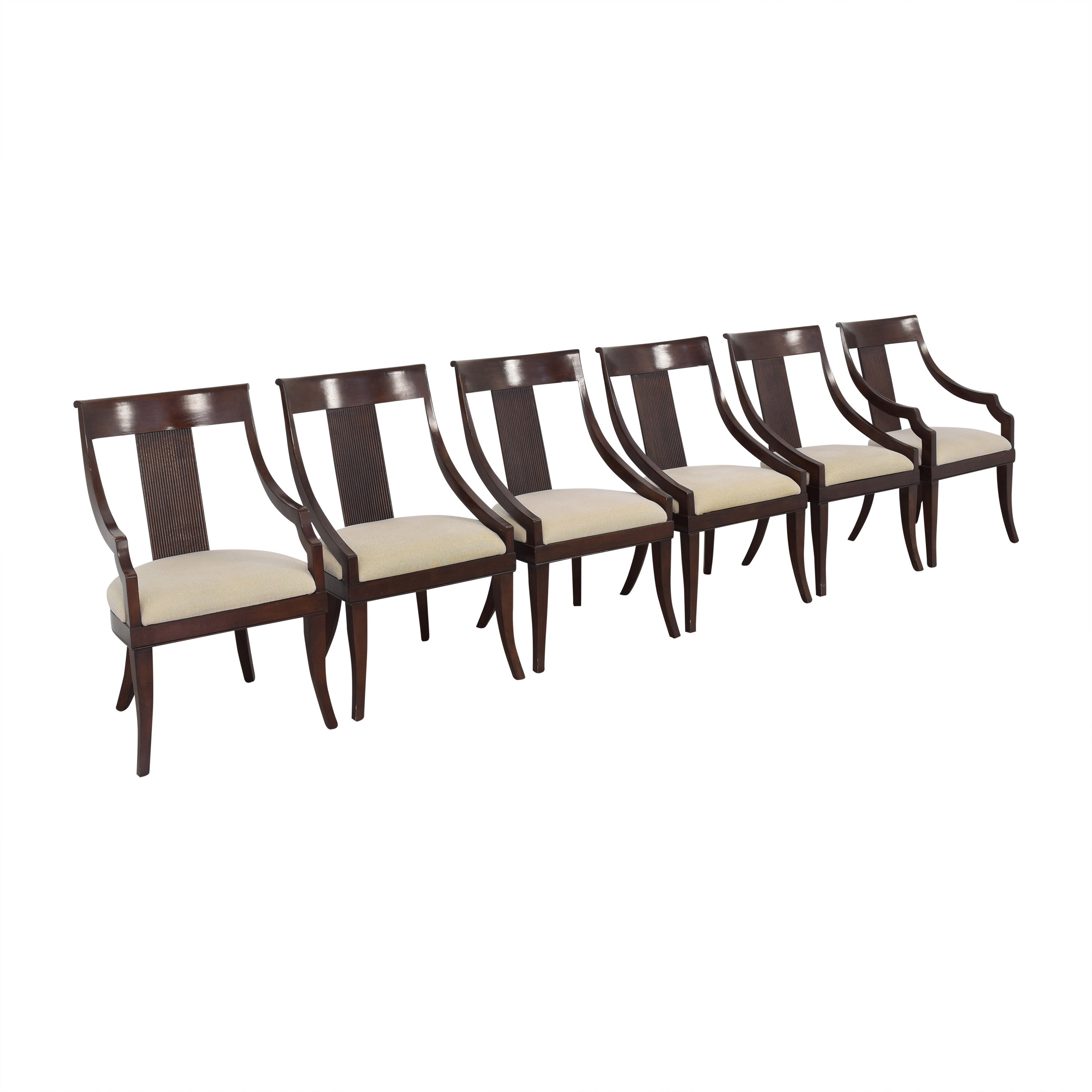 Macy's Macy's Upholstered Dining Chairs discount