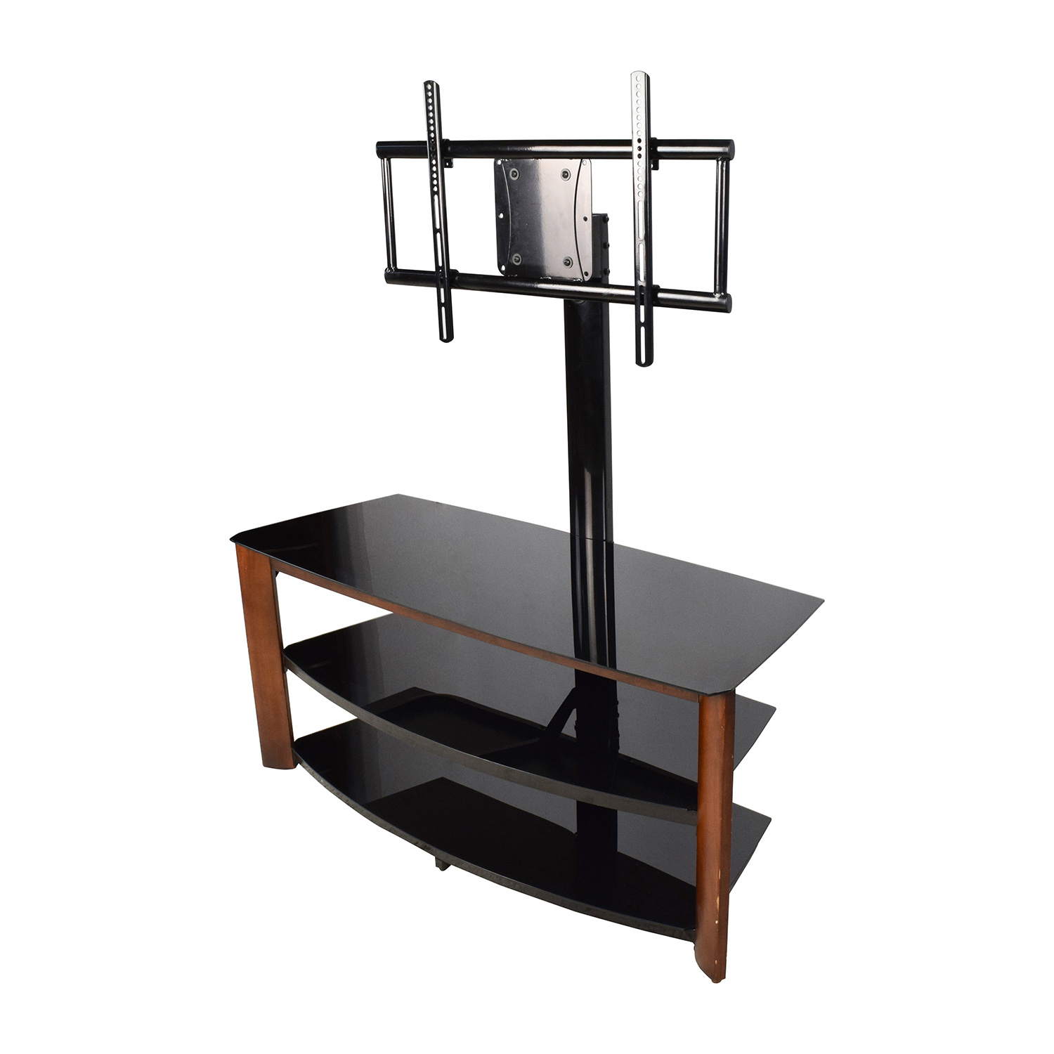 87 Off Walmart Tv Stand With Mount Storage