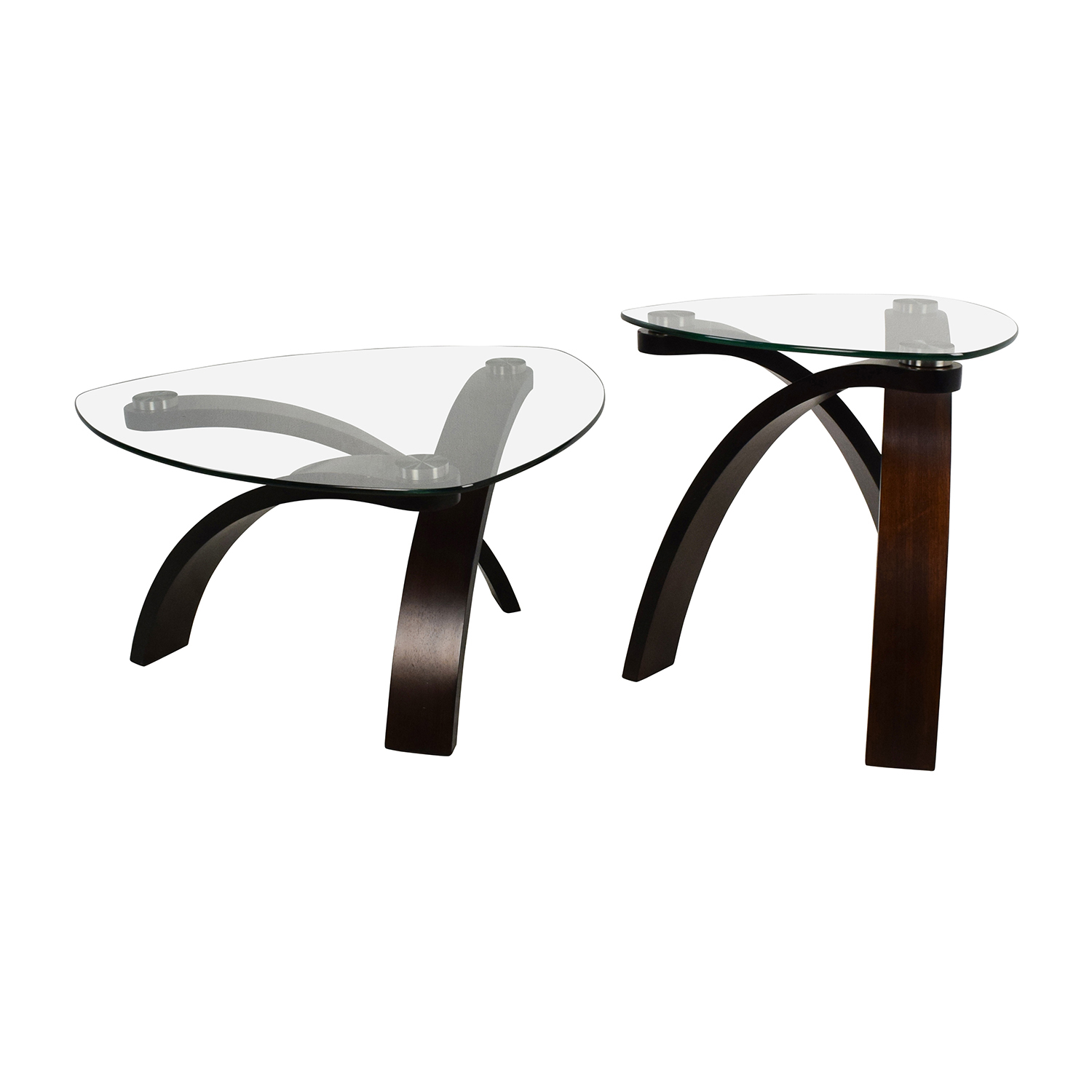 Raymour and Flanigan Raymour & Flanigan Allure Coffee Table Set on sale