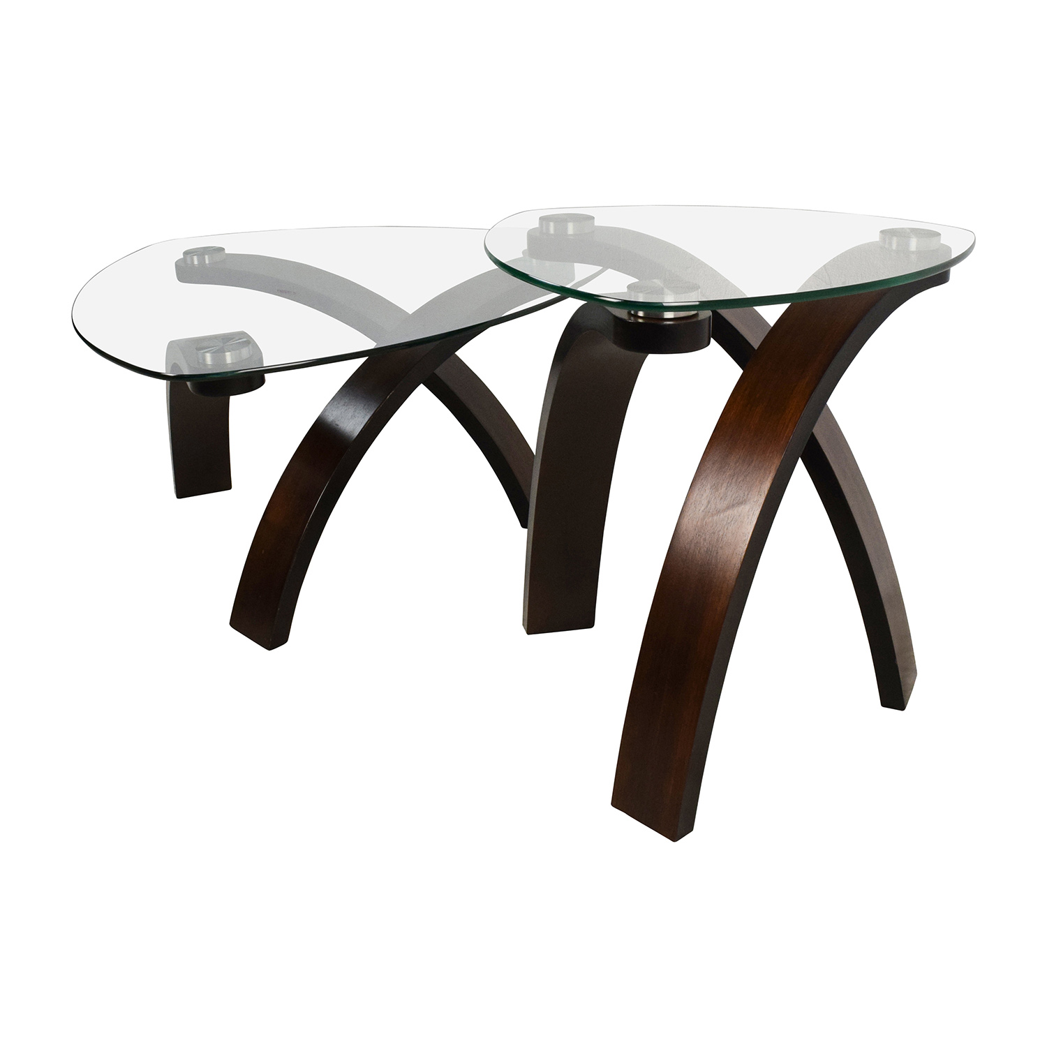 51 Off Raymour And Flanigan Raymour Flanigan Allure Coffee Table Set Tables