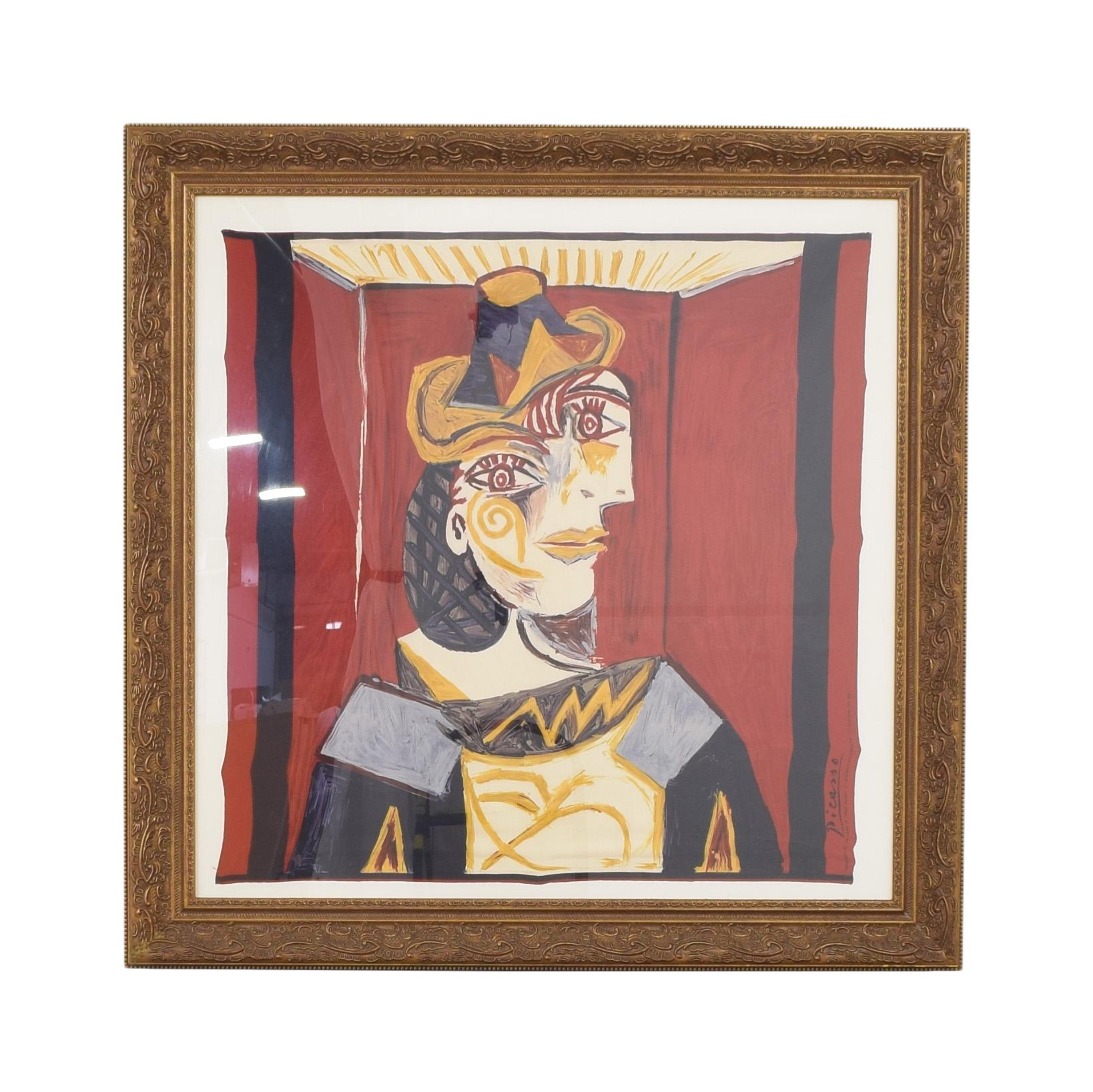 Framed Picasso Print Wall Art / Wall Art