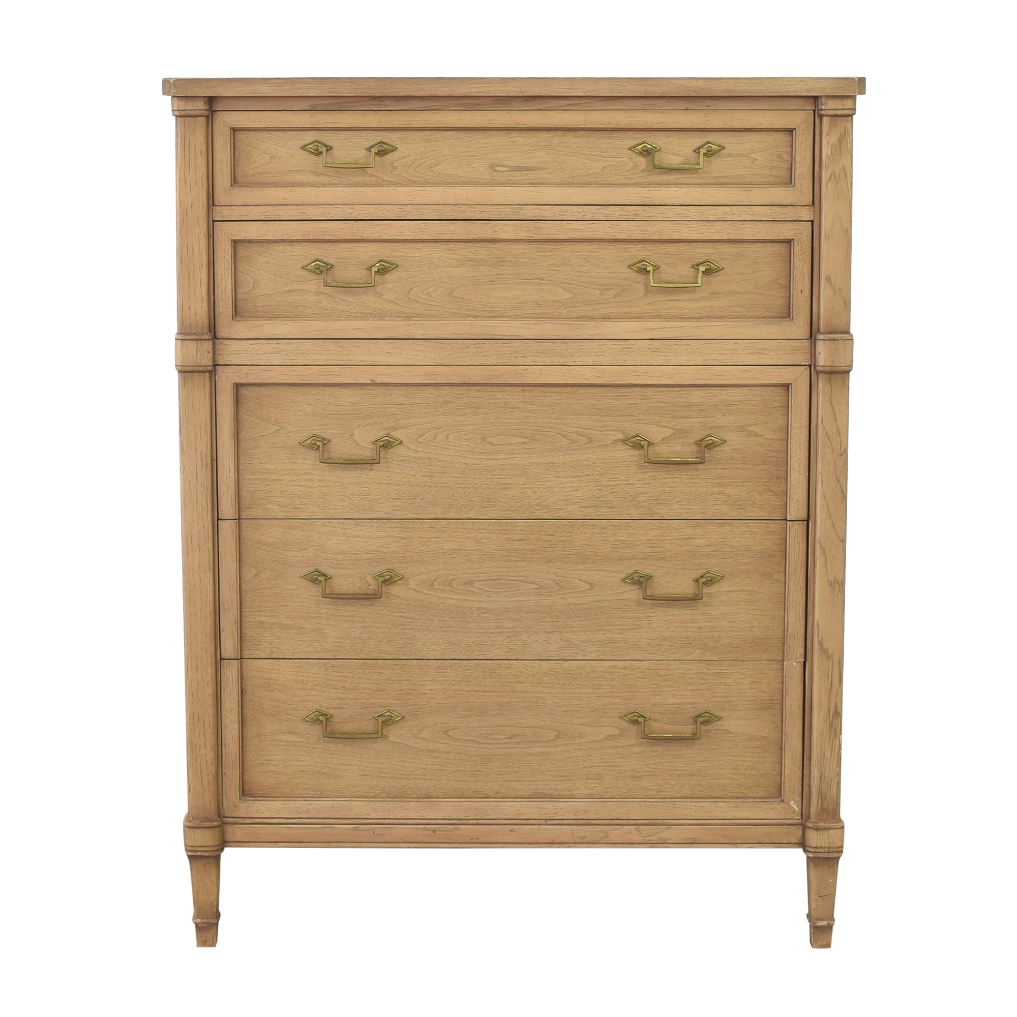 Drexel Drexel Tall Five Drawer Dresser ma