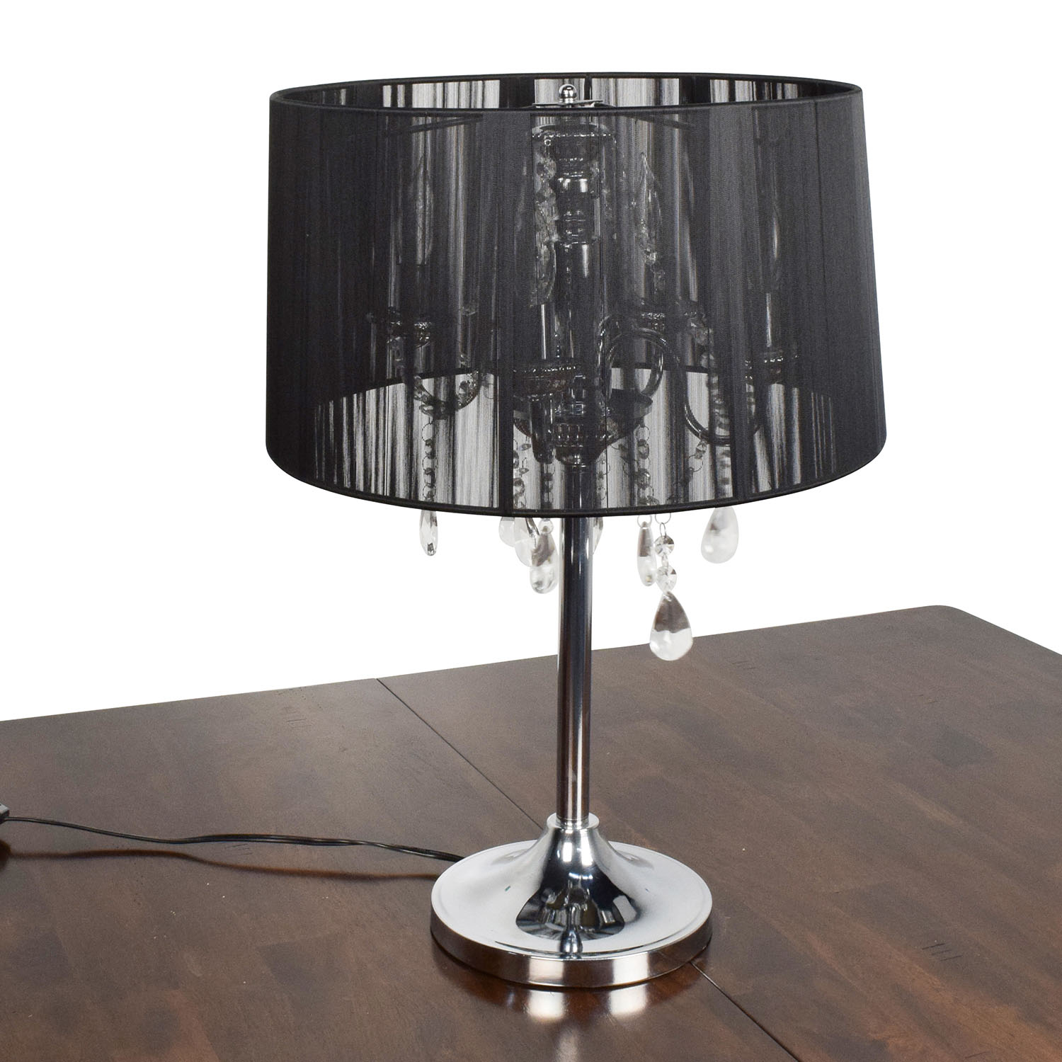 Destination Lighting Destination Lightening Lamps with Crystals and Chrome Base for sale