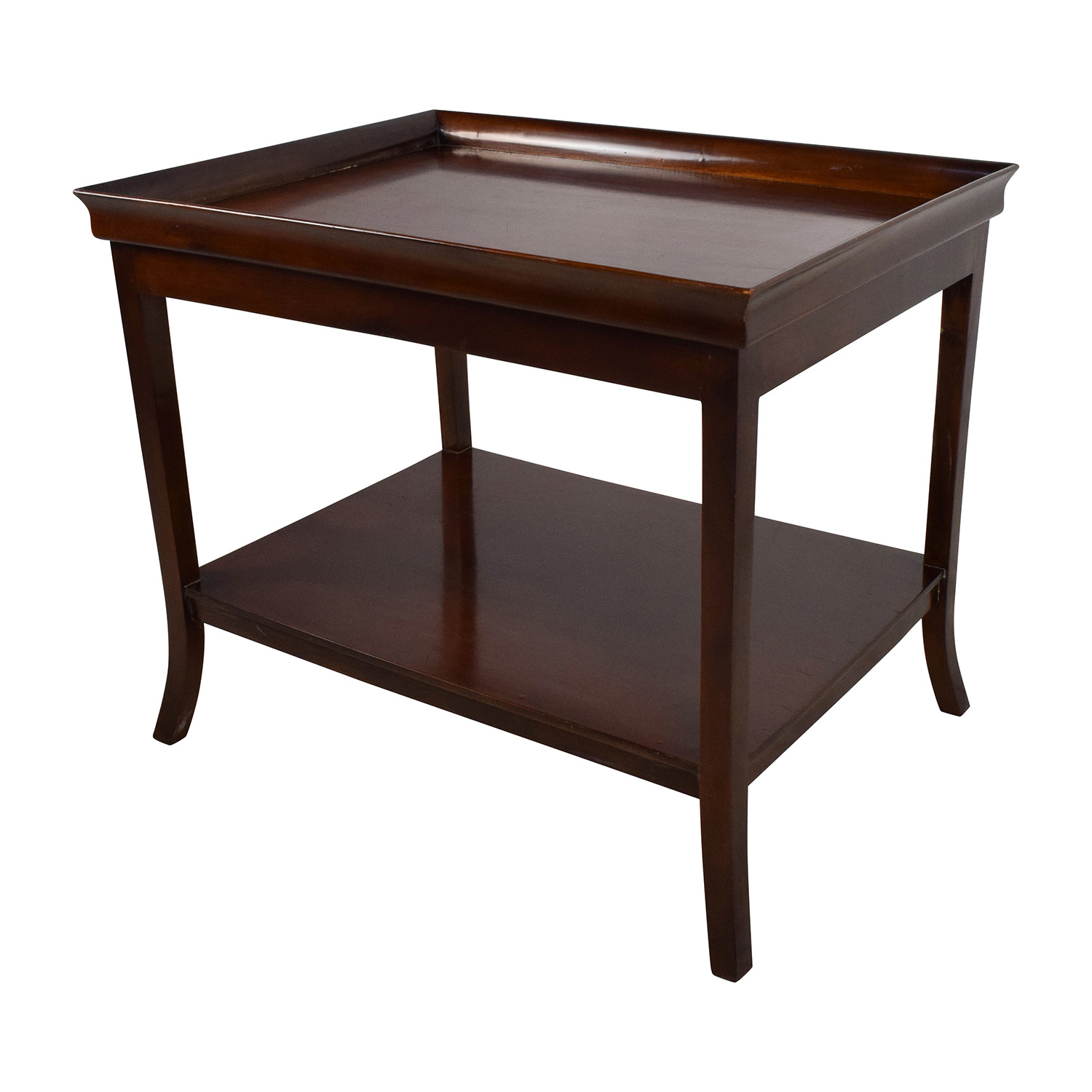 Lovely ... Buy Brown Wood End Table Tables ...