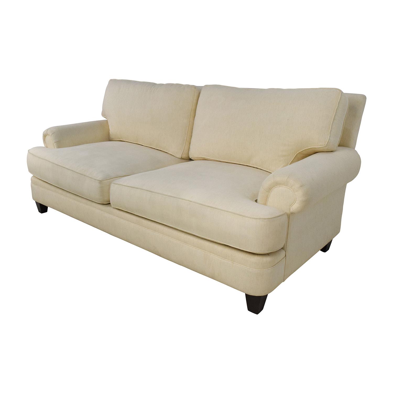 Sofas Used Sofas For Sale: Henredon Henredon Fireside Short Beige 3-Seater