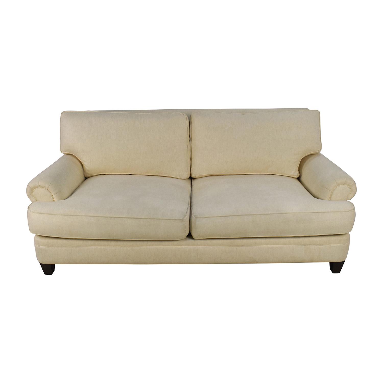 Henredon Henredon Fireside Short Beige 3-Seater Sofa coupon