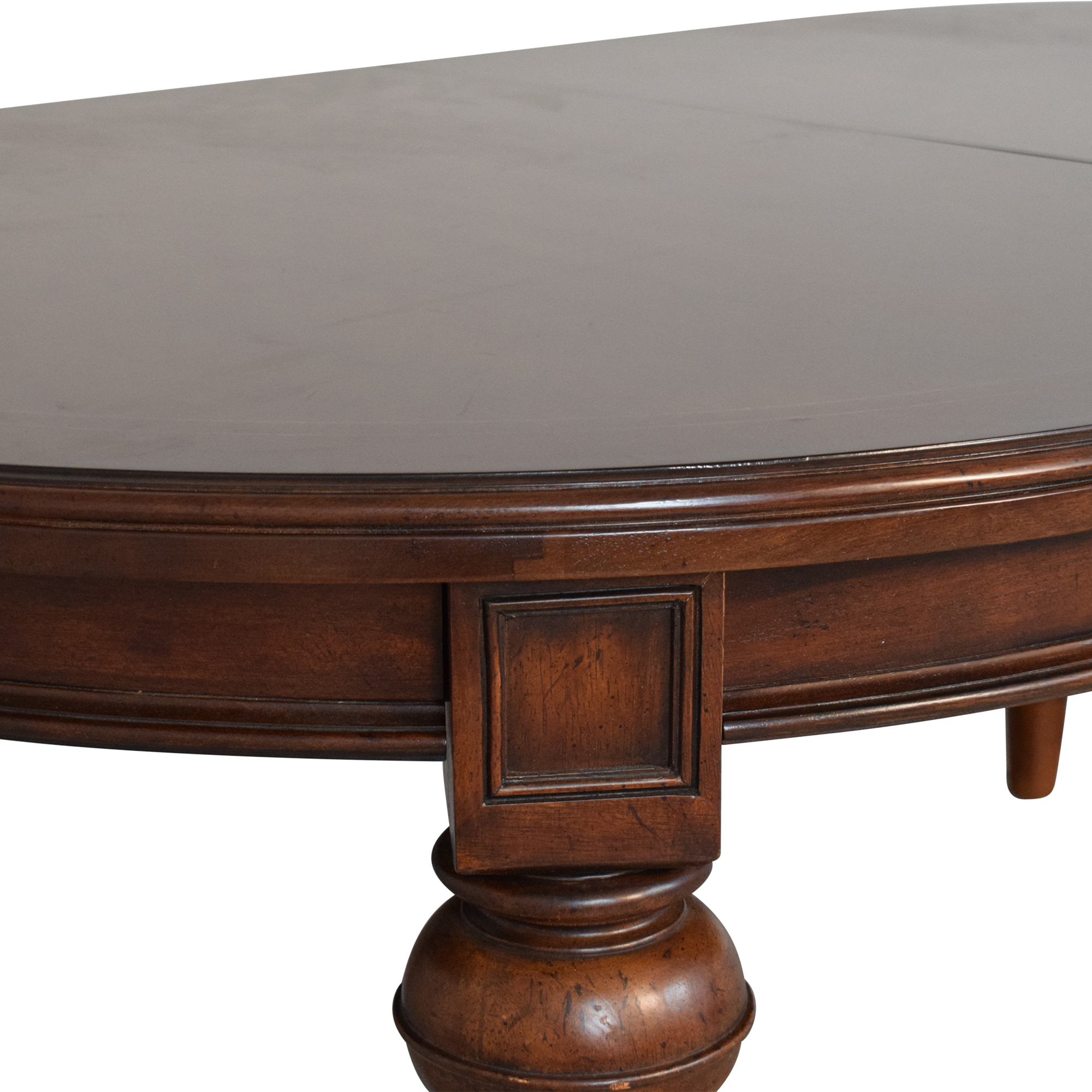 Thomasville Expandable Oval Dining Table sale