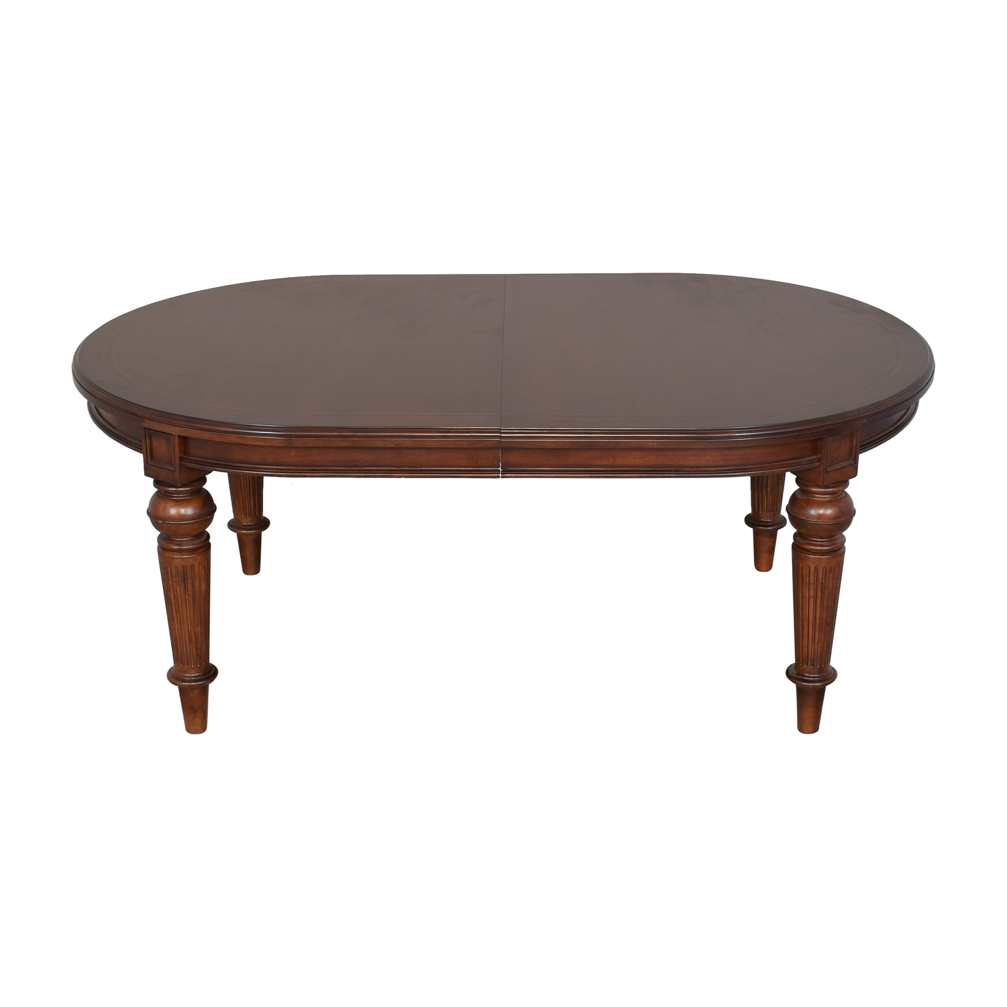 Thomasville Thomasville Expandable Oval Dining Table ct