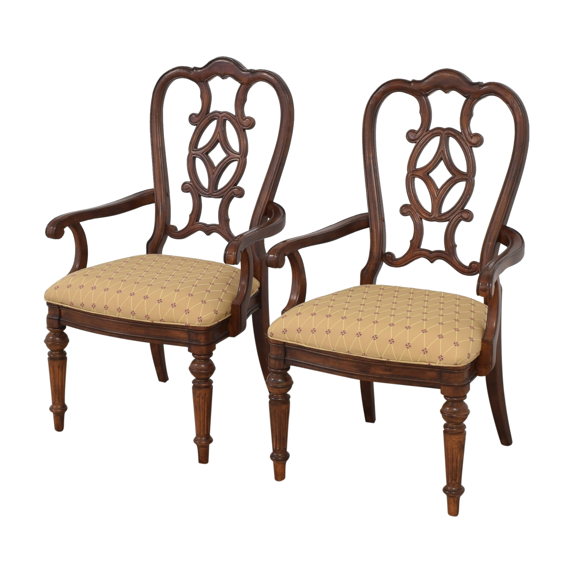 Thomasville Thomasville Dining Arm Chairs ct