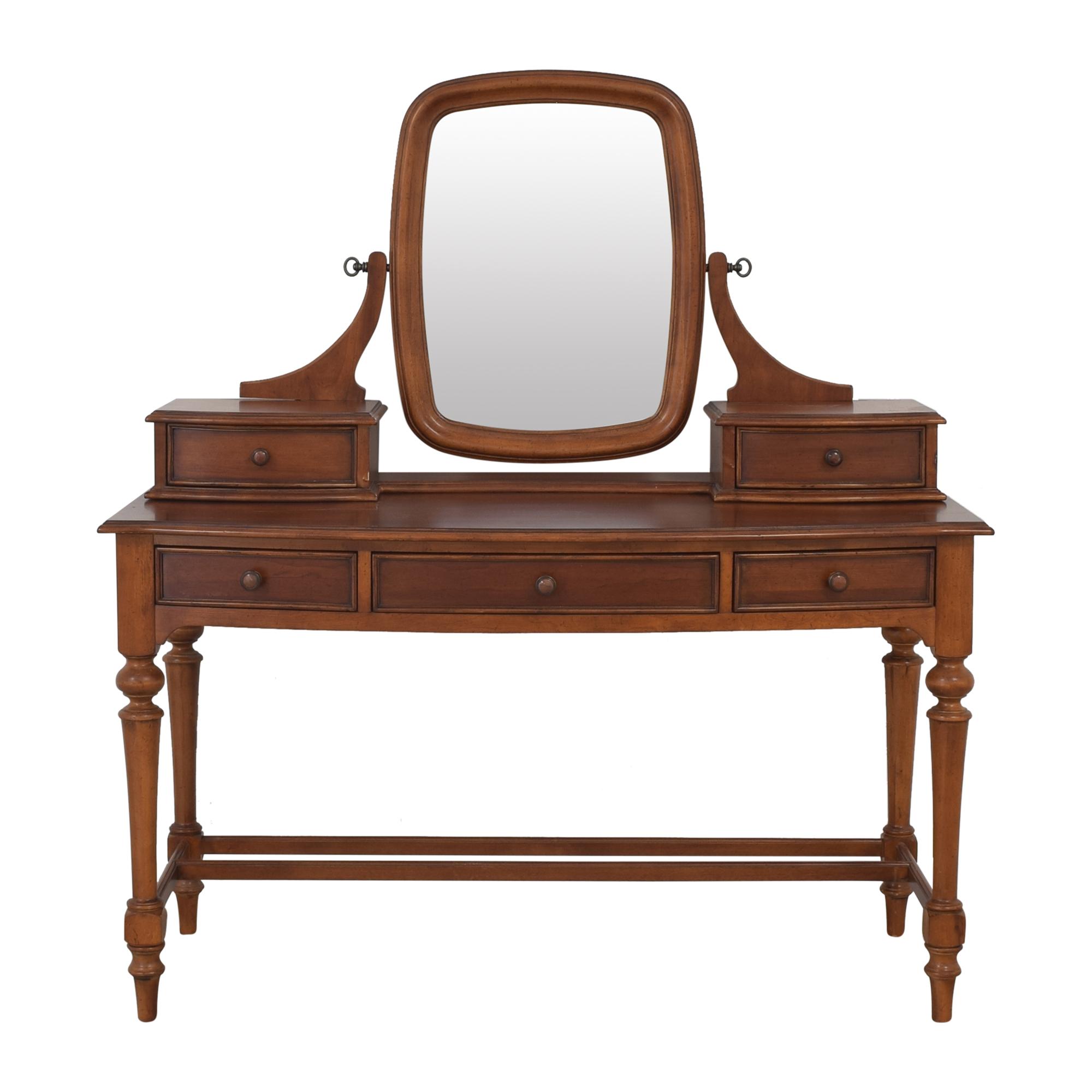 Thomasville Thomasville Felicity Vanity Desk with Mirror second hand