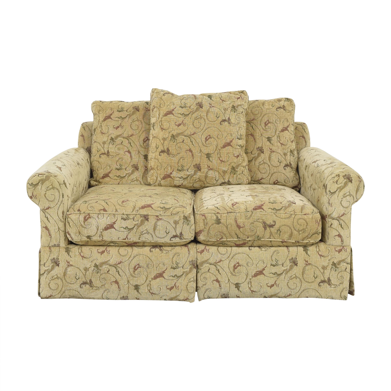 McCreary Modern McCreary Modern Two Cushion Roll Arm Sofa used