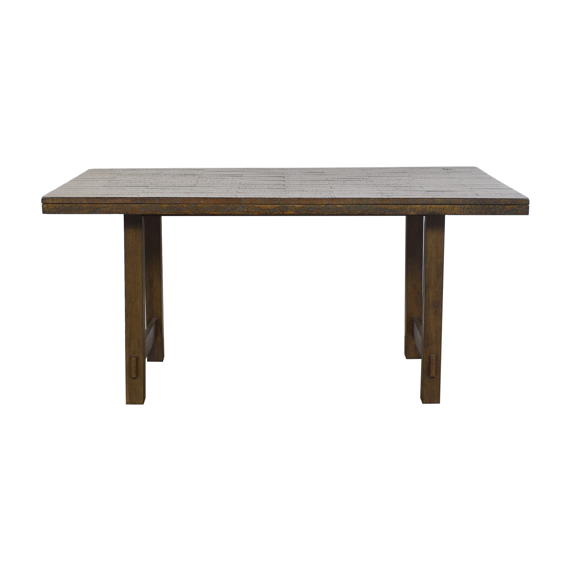 Wayfair Wayfair Channel Island Solid Wood Dining Table on sale