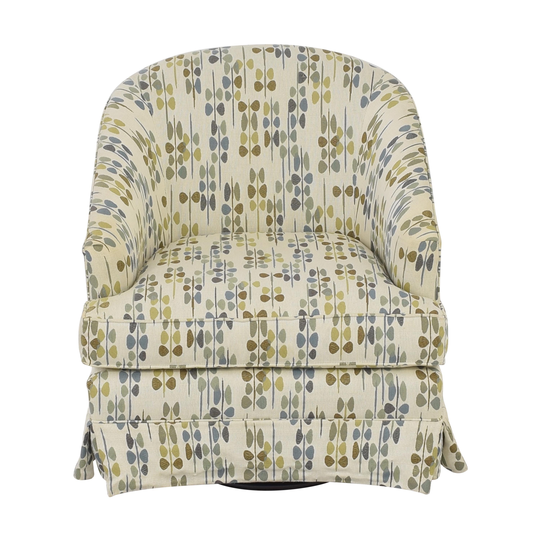 shop Mitchell Gold + Bob Williams Swivel Accent Chair Mitchell Gold + Bob Williams