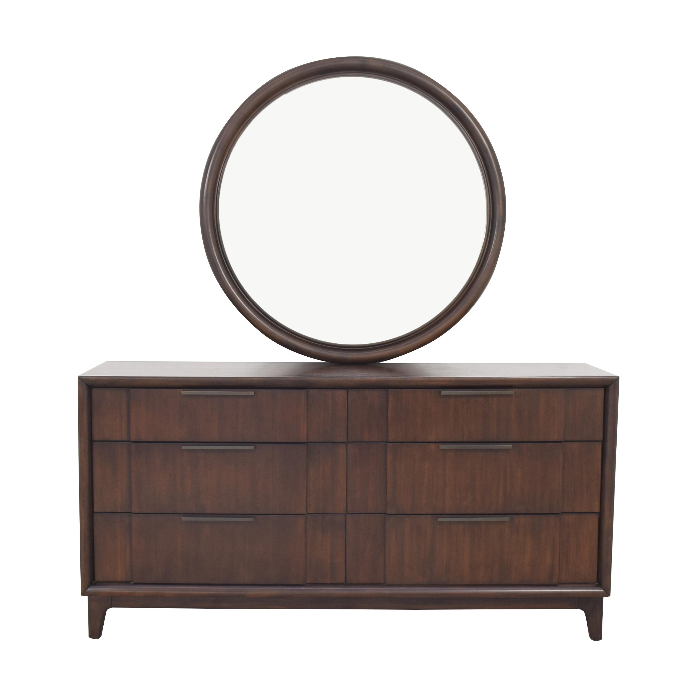 Casana Furniture Casana Furniture Simply Modern Collection Dresser with Mirror coupon