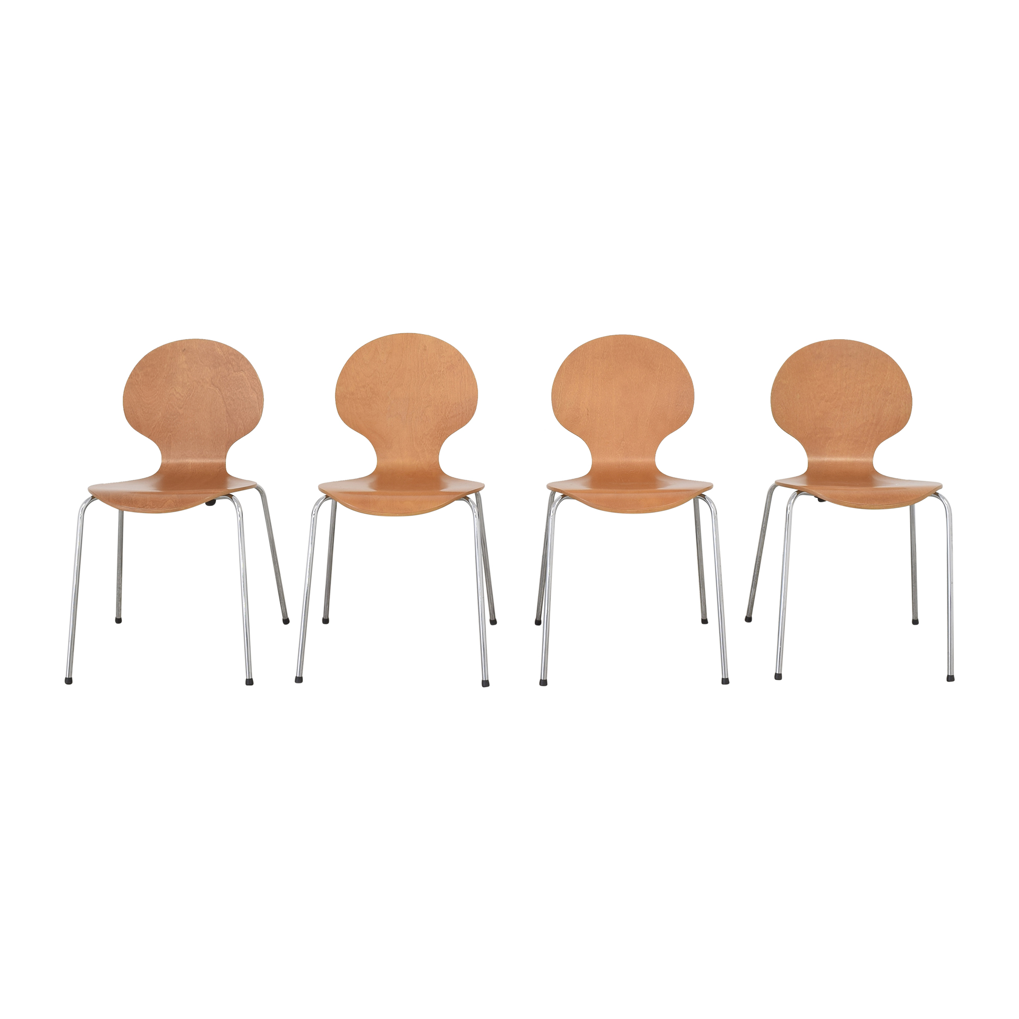 CB2 CB2 Modern Dining Chairs second hand