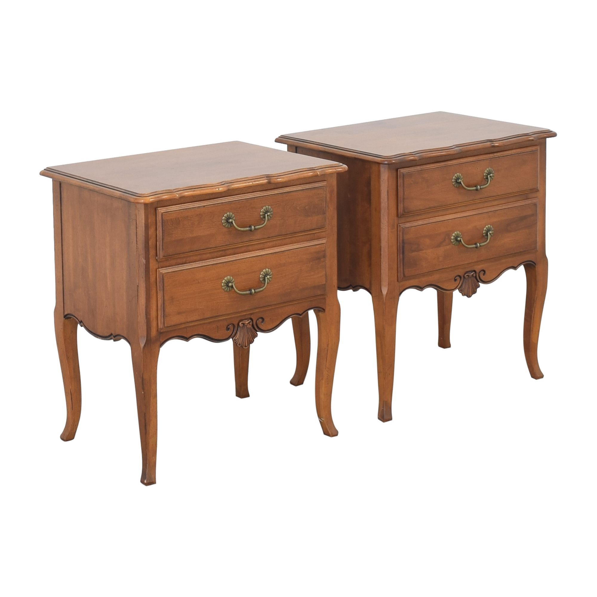 Ethan Allen Ethan Allen Country French End Tables ma