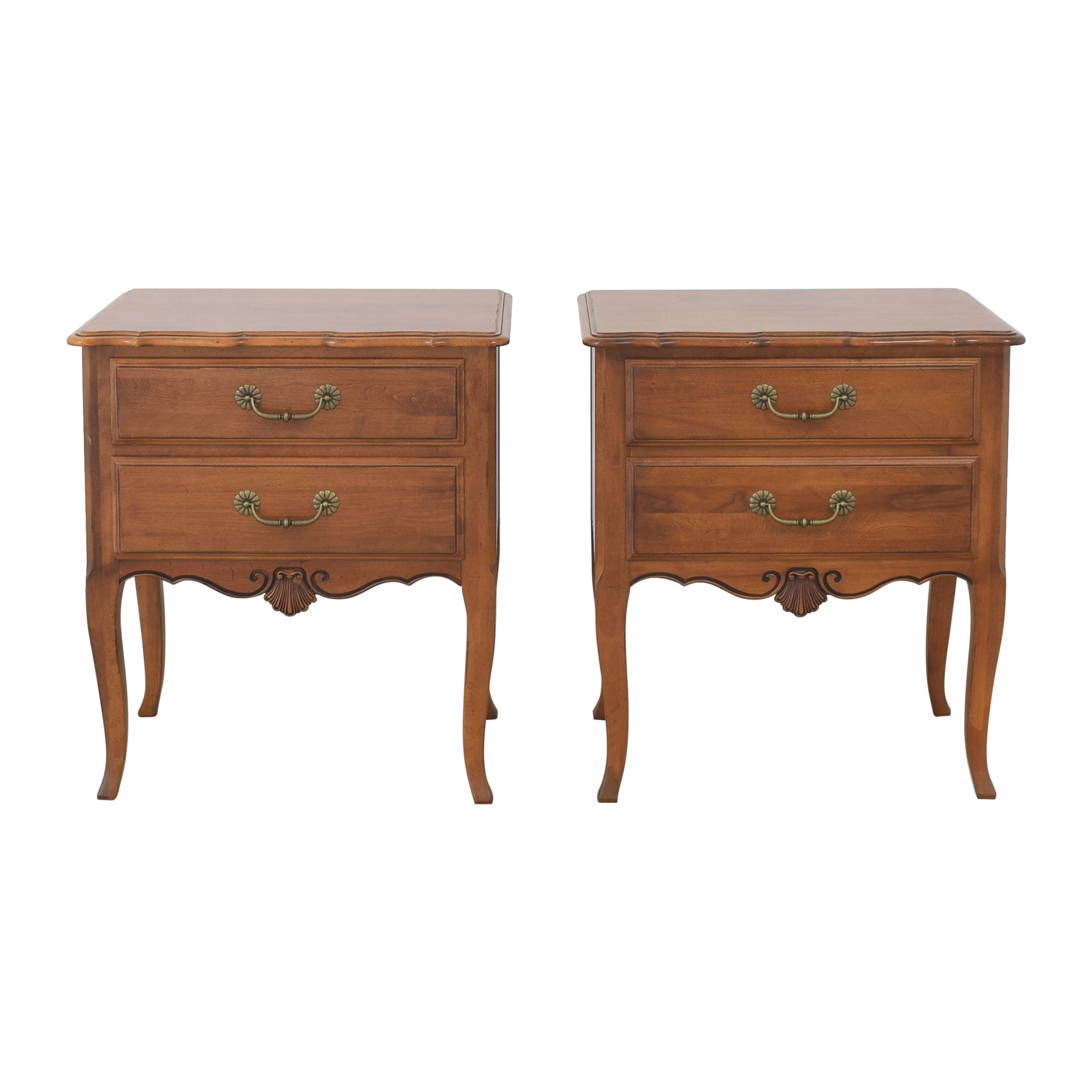 shop Ethan Allen Country French End Tables Ethan Allen