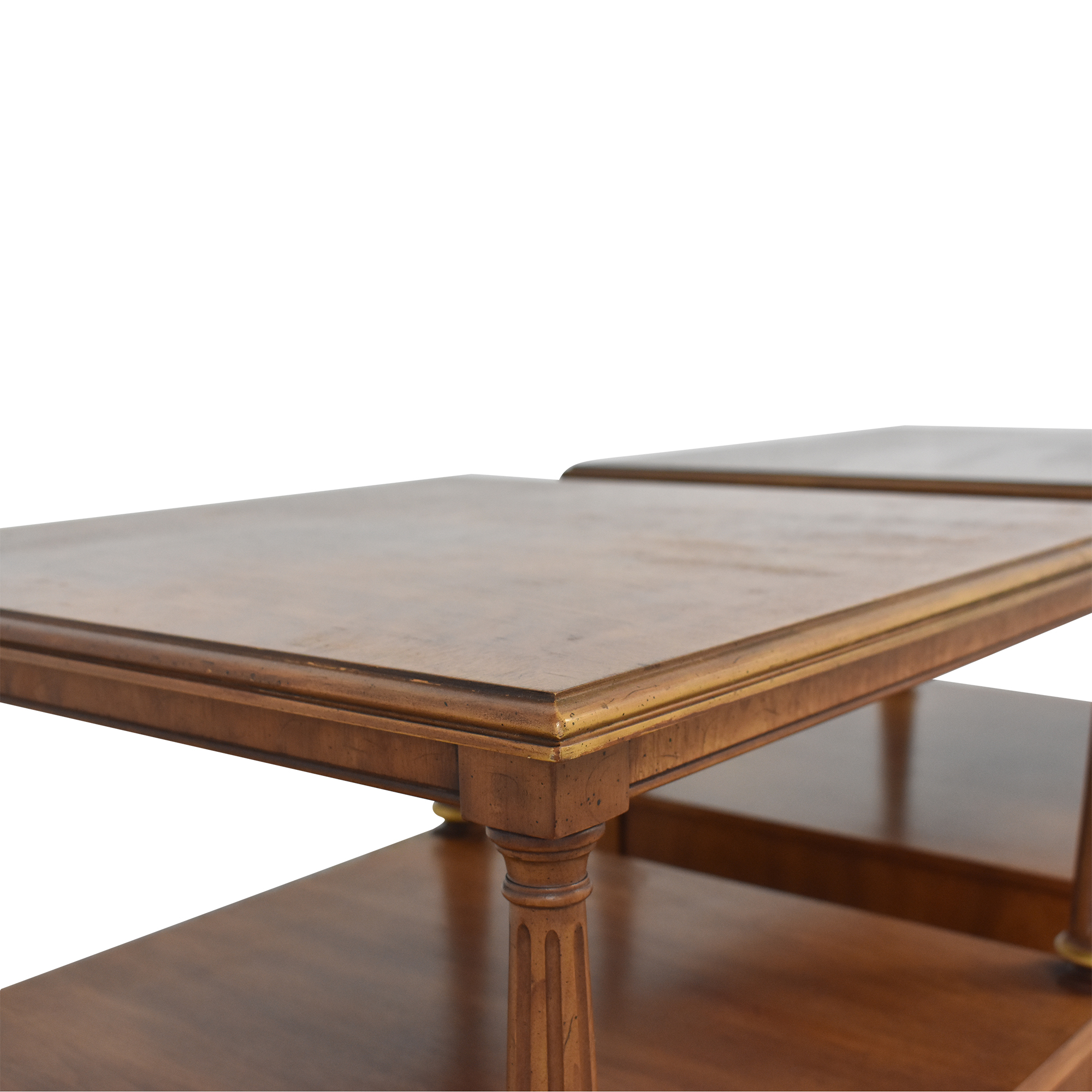 Henredon Two Tier End Tables / End Tables