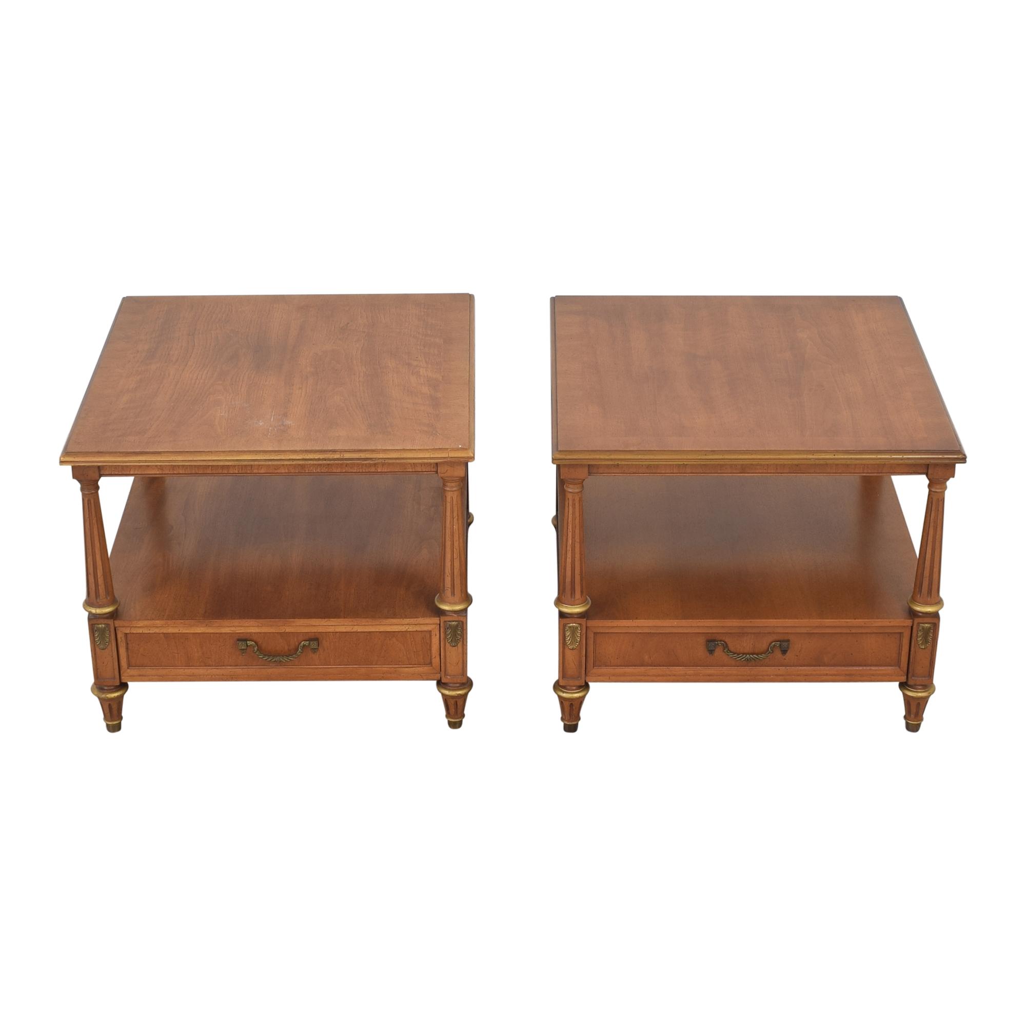 Henredon Furniture Henredon Two Tier End Tables discount