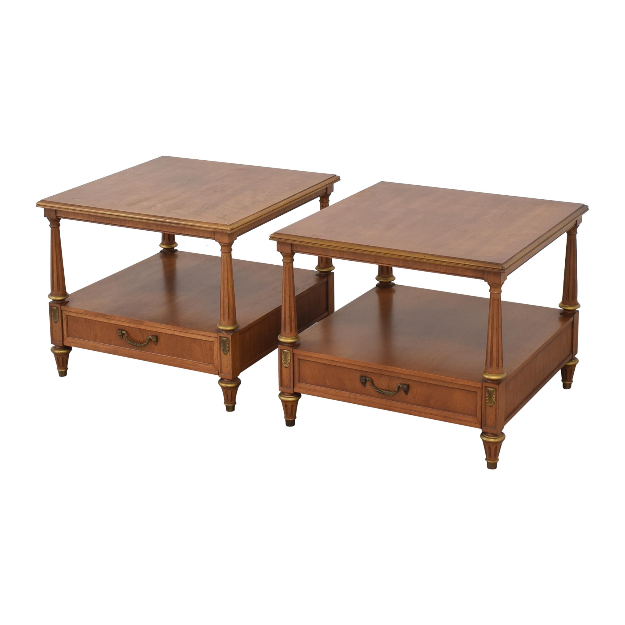 Henredon Two Tier End Tables Henredon Furniture