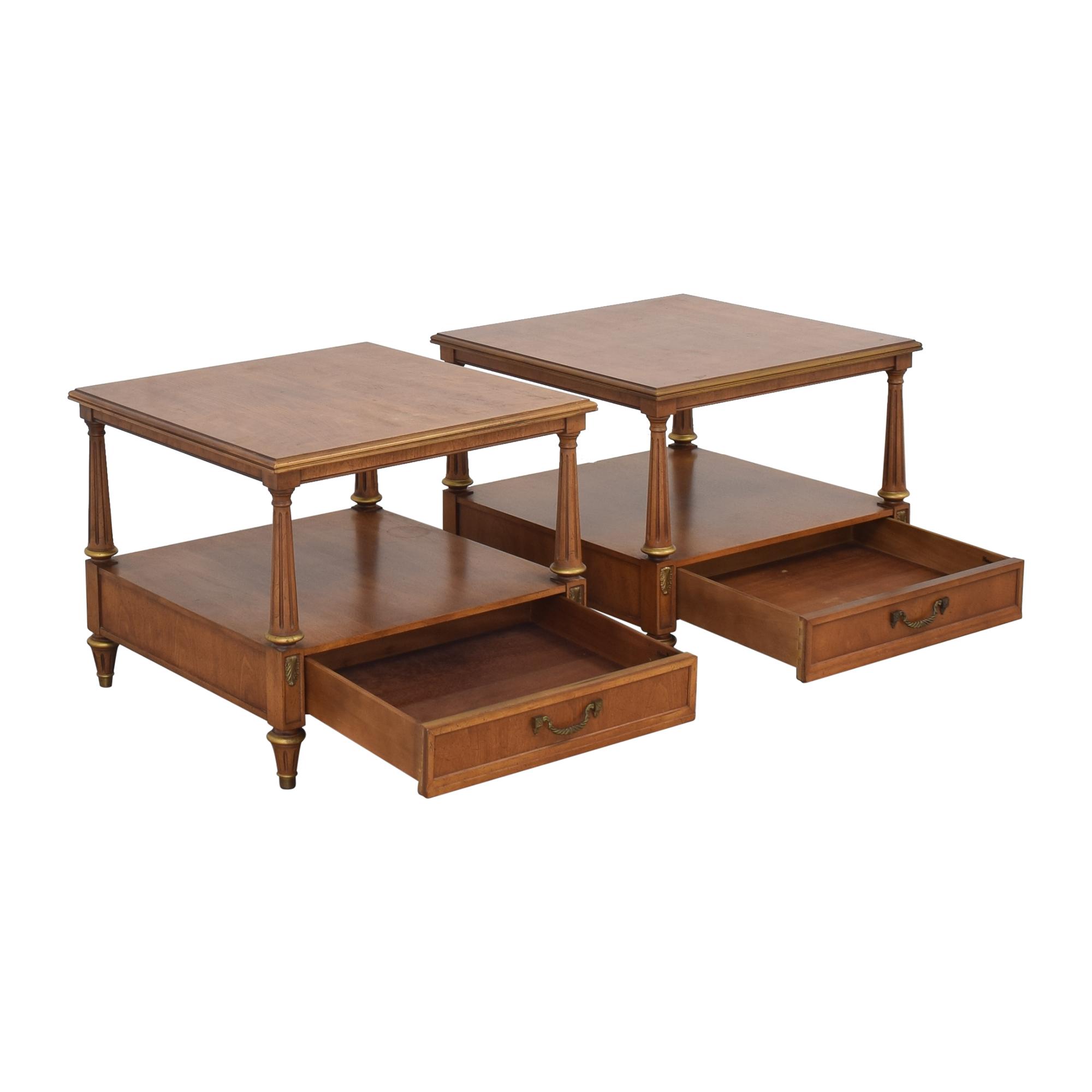 buy Henredon Two Tier End Tables Henredon Furniture End Tables