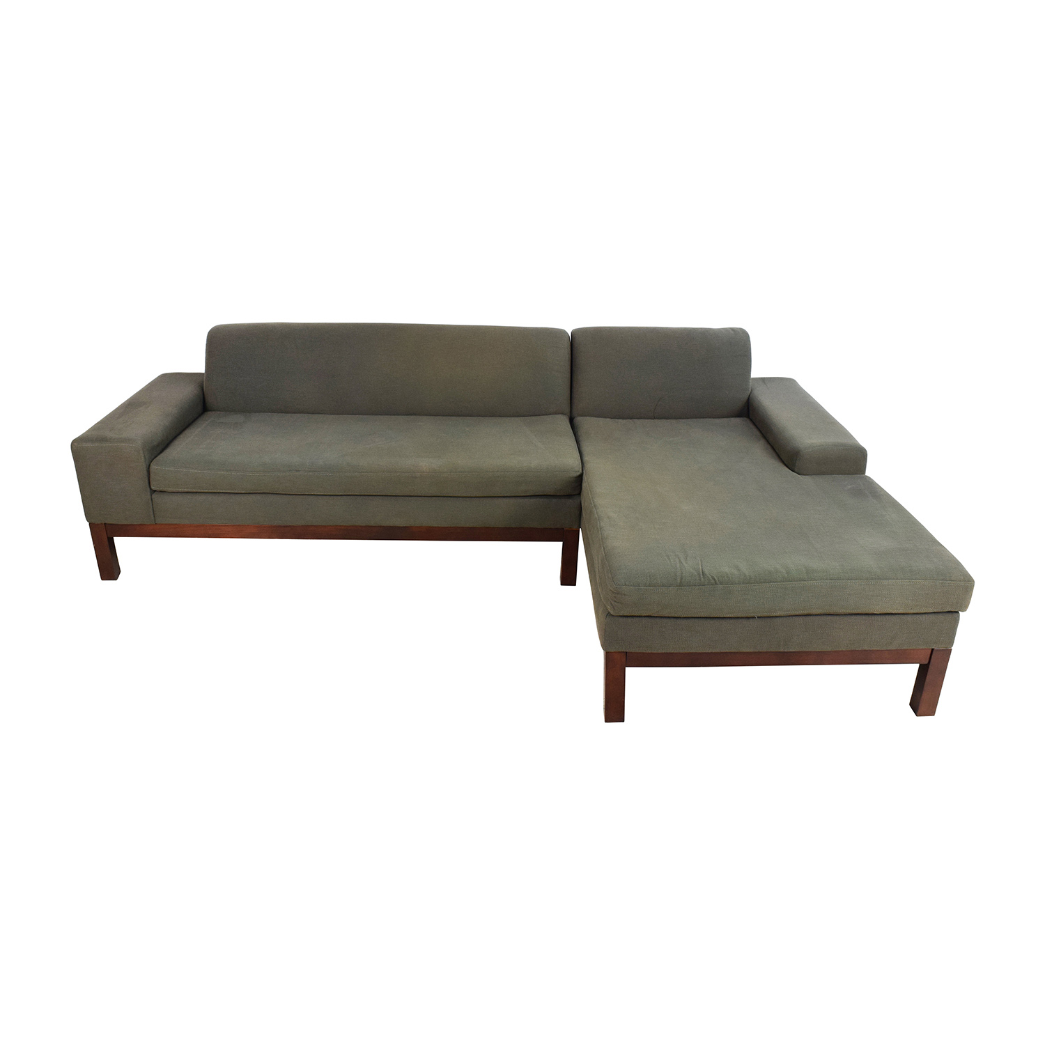 West Elm West Elm Lorimer Green Sectional