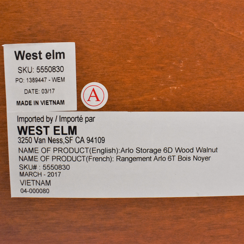 buy West Elm Arlo Six Drawer Dresser West Elm Dressers
