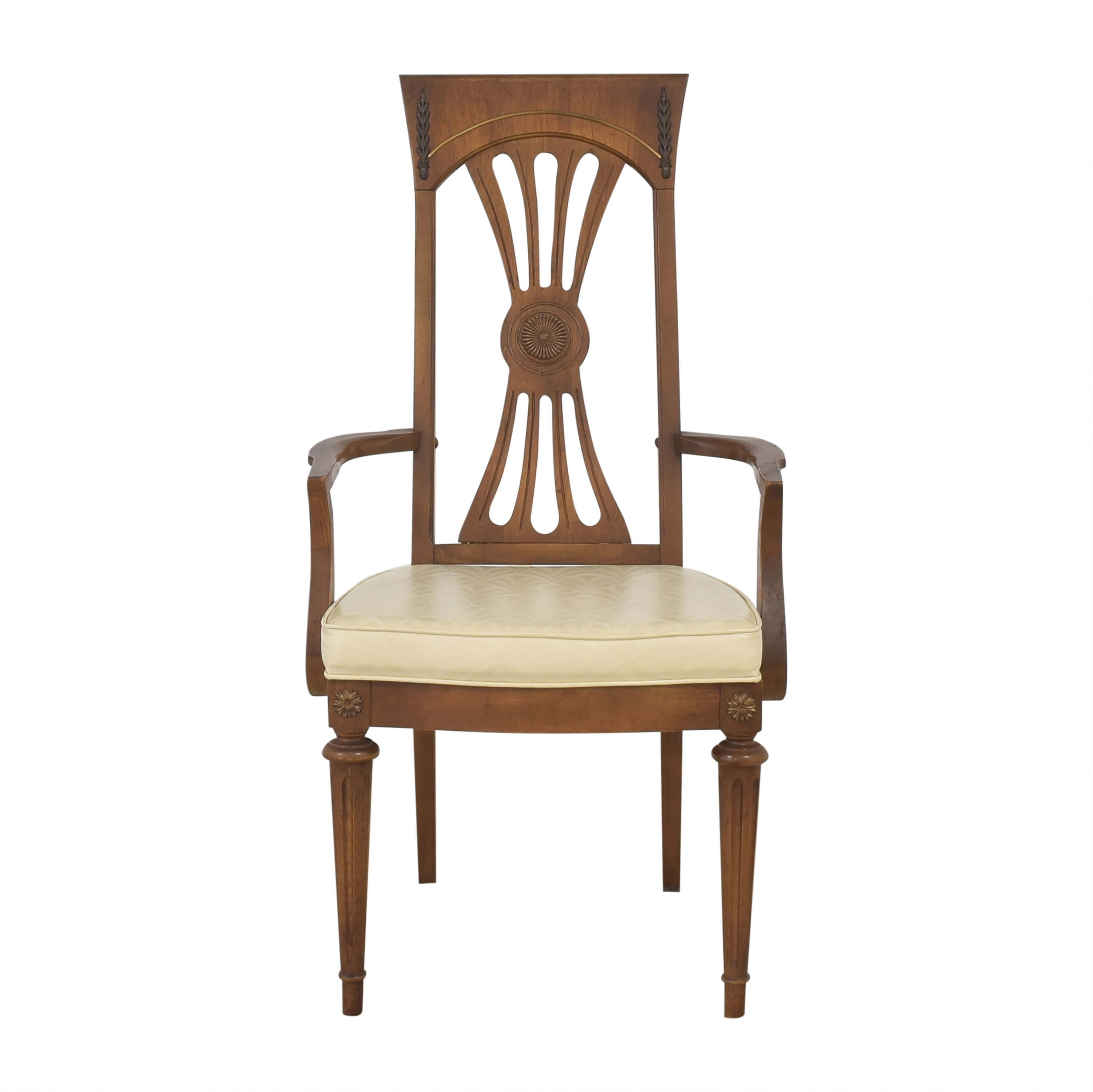 Carved Back Dining Arm Chair coupon