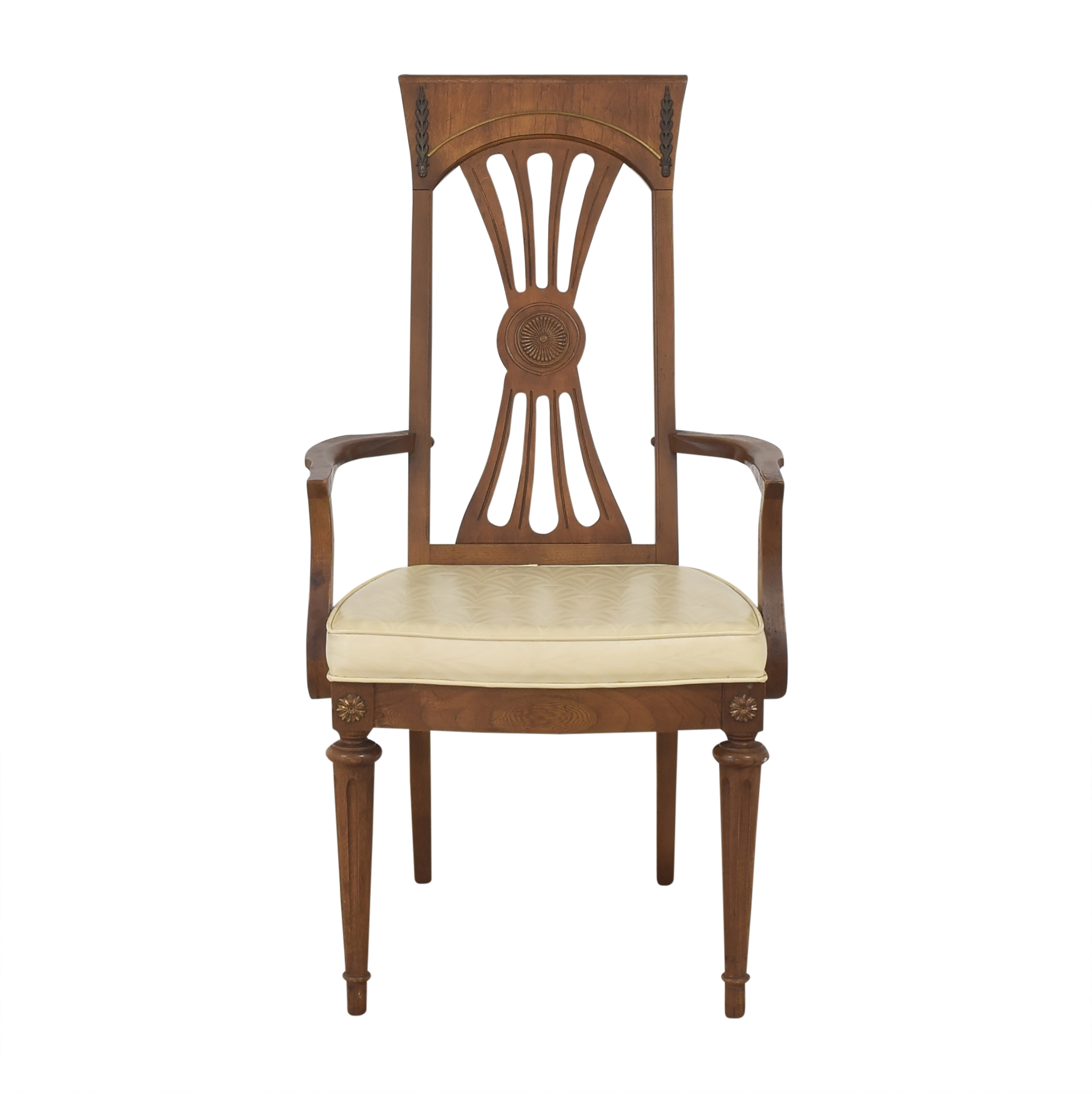 shop  Carved Back Dining Arm Chair online