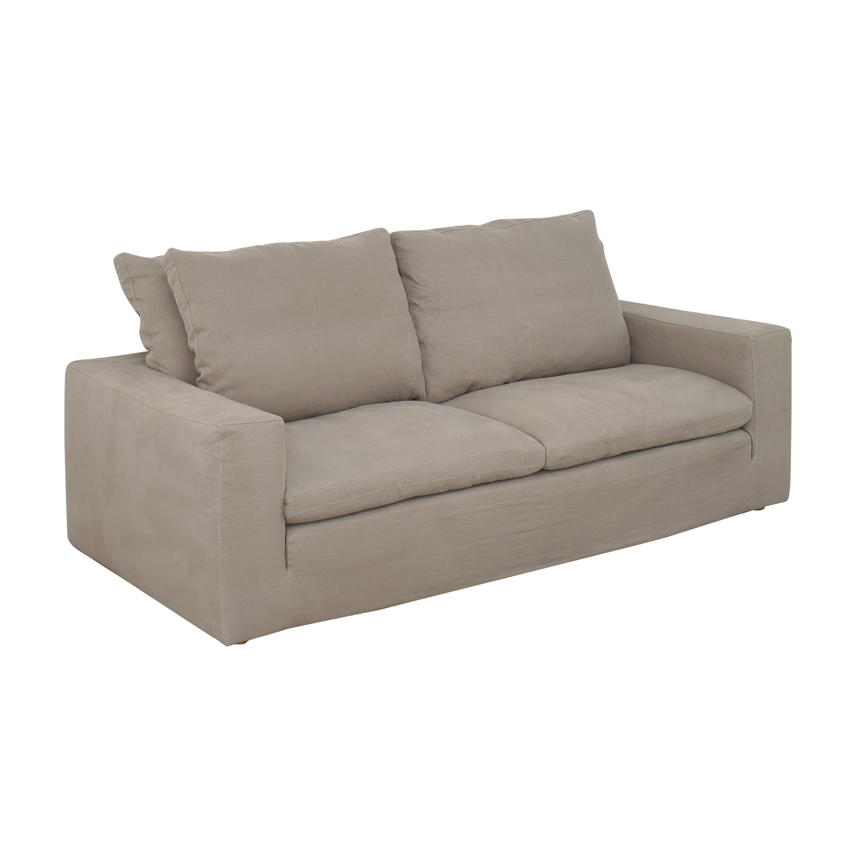 buy Restoration Hardware Cloud Two-Seat-Cushion Sofa Restoration Hardware Sofas