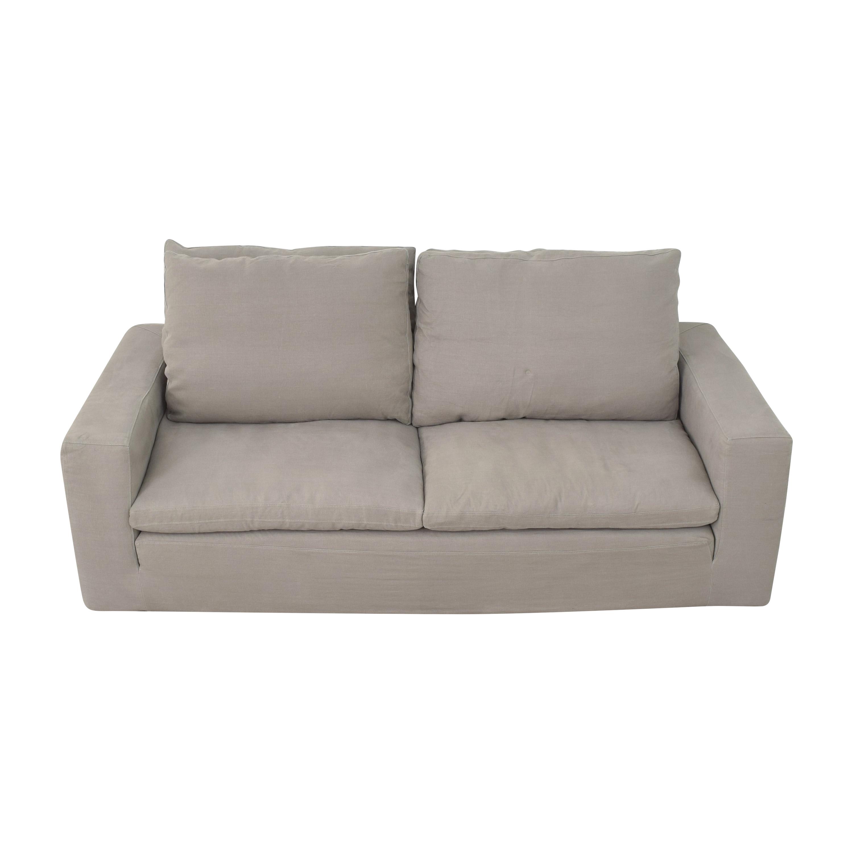 Restoration Hardware Restoration Hardware Cloud Two-Seat-Cushion Sofa dimensions