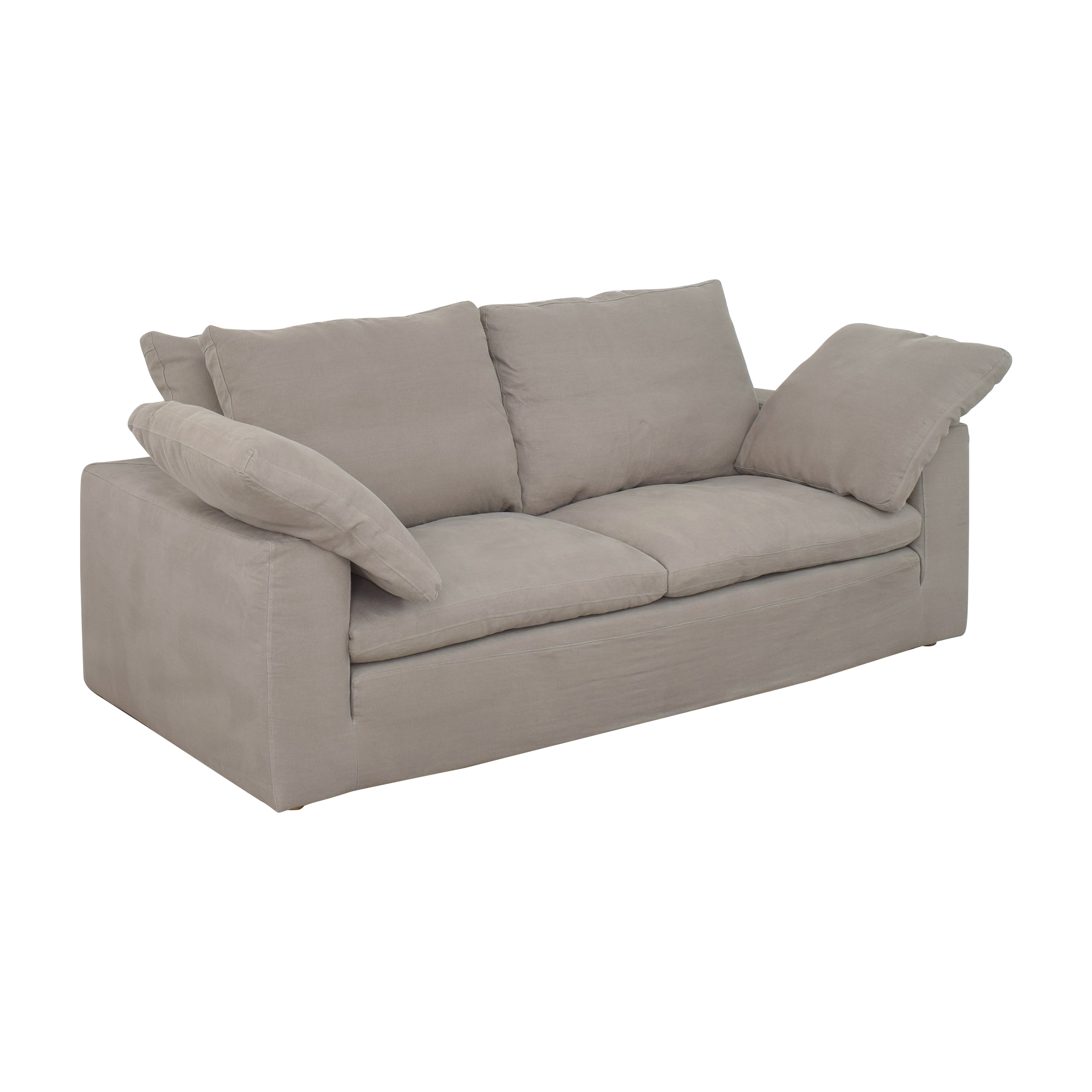 Restoration Hardware Restoration Hardware Cloud Two-Seat-Cushion Sofa for sale