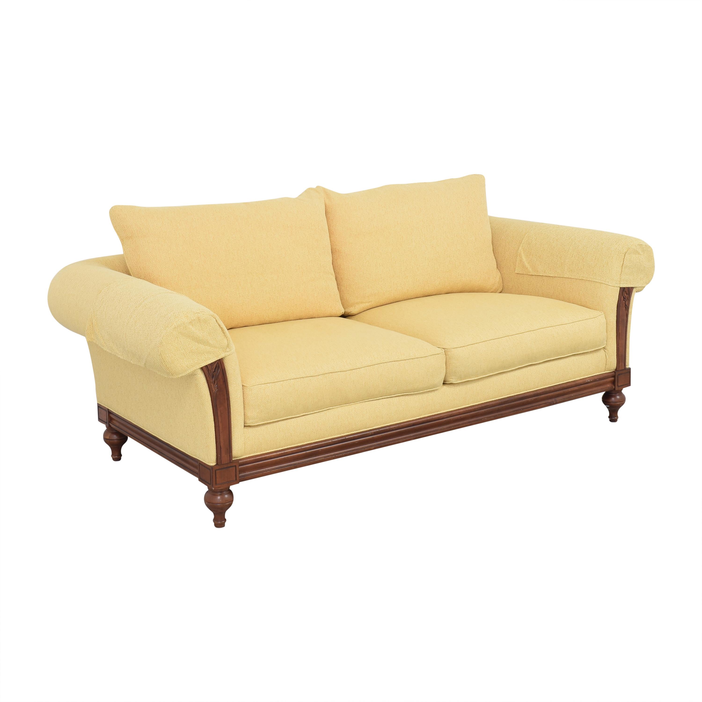 Ethan Allen Ethan Allen Pratt Sofa yellow