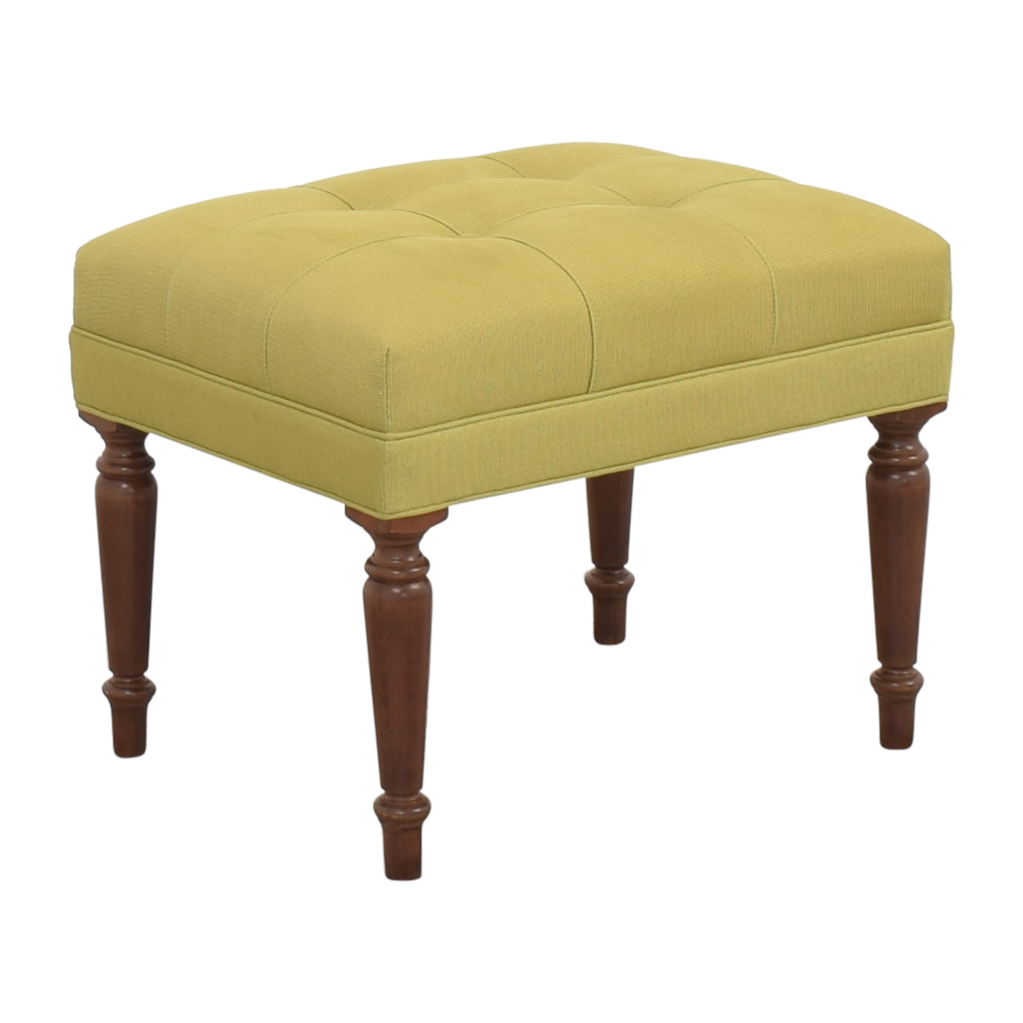 Ethan Allen Upholstered Ottoman / Chairs