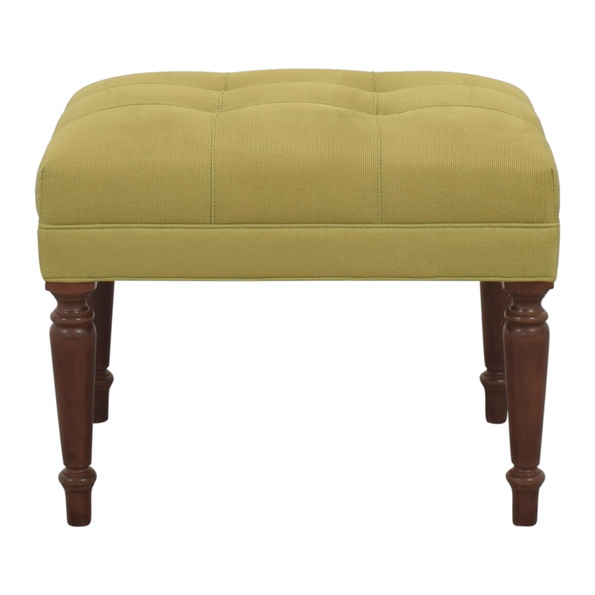 Ethan Allen Ethan Allen Upholstered Ottoman for sale