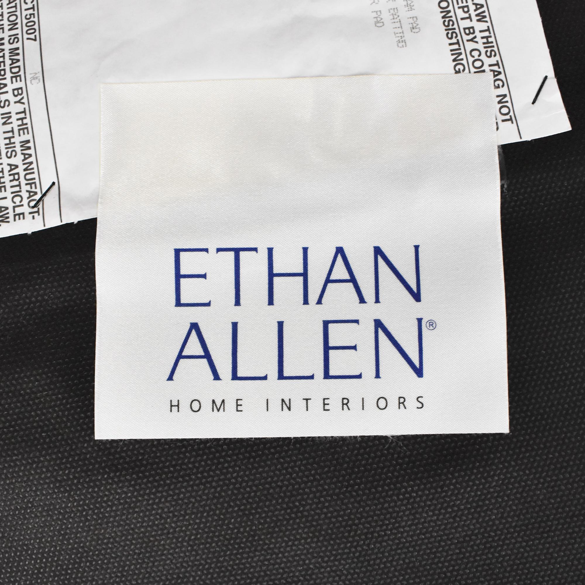 Ethan Allen Ethan Allen Upholstered Ottoman used