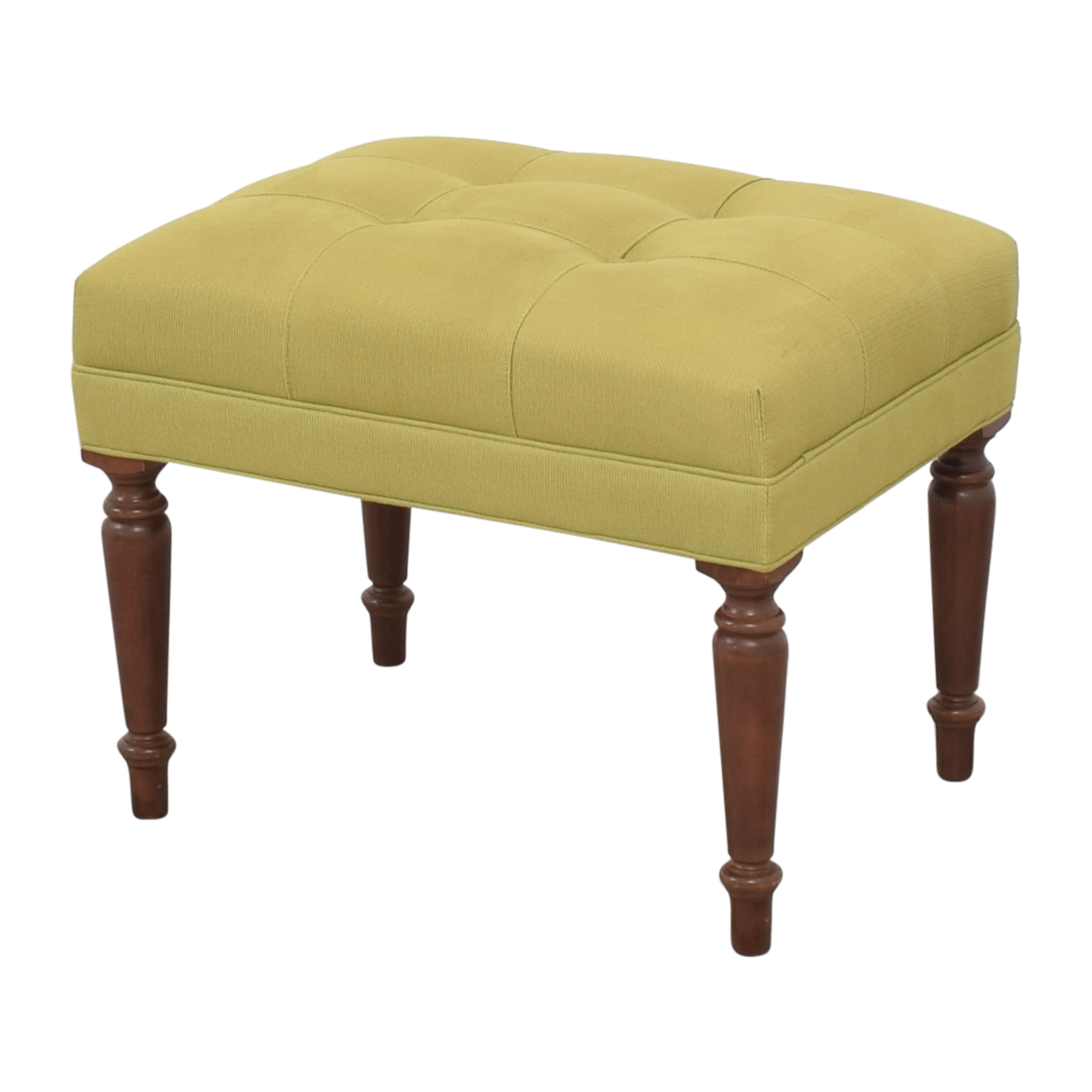 Ethan Allen Ethan Allen Upholstered Ottoman Chairs