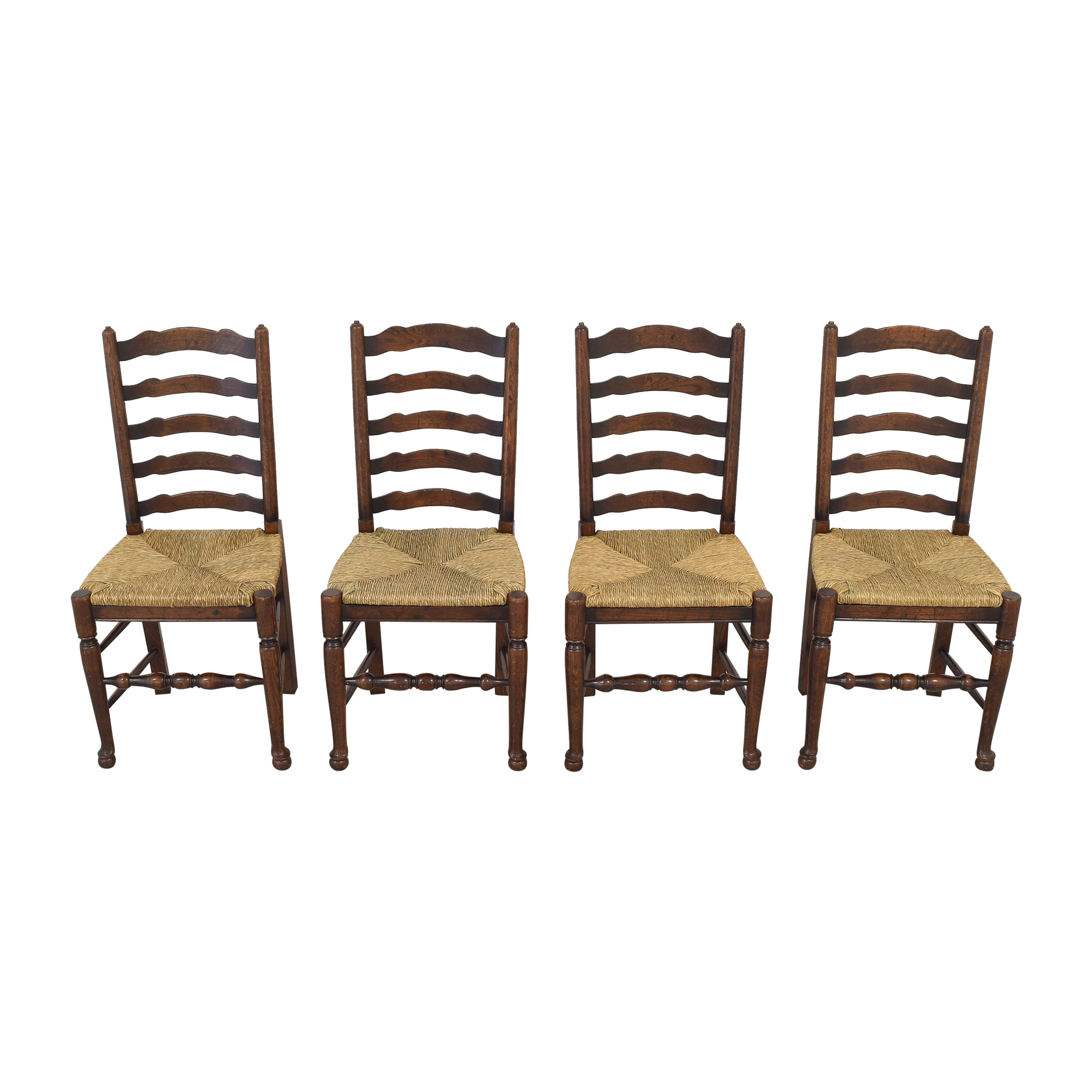 Pottery Barn Pottery Barn Ladder Back Dining Chairs pa