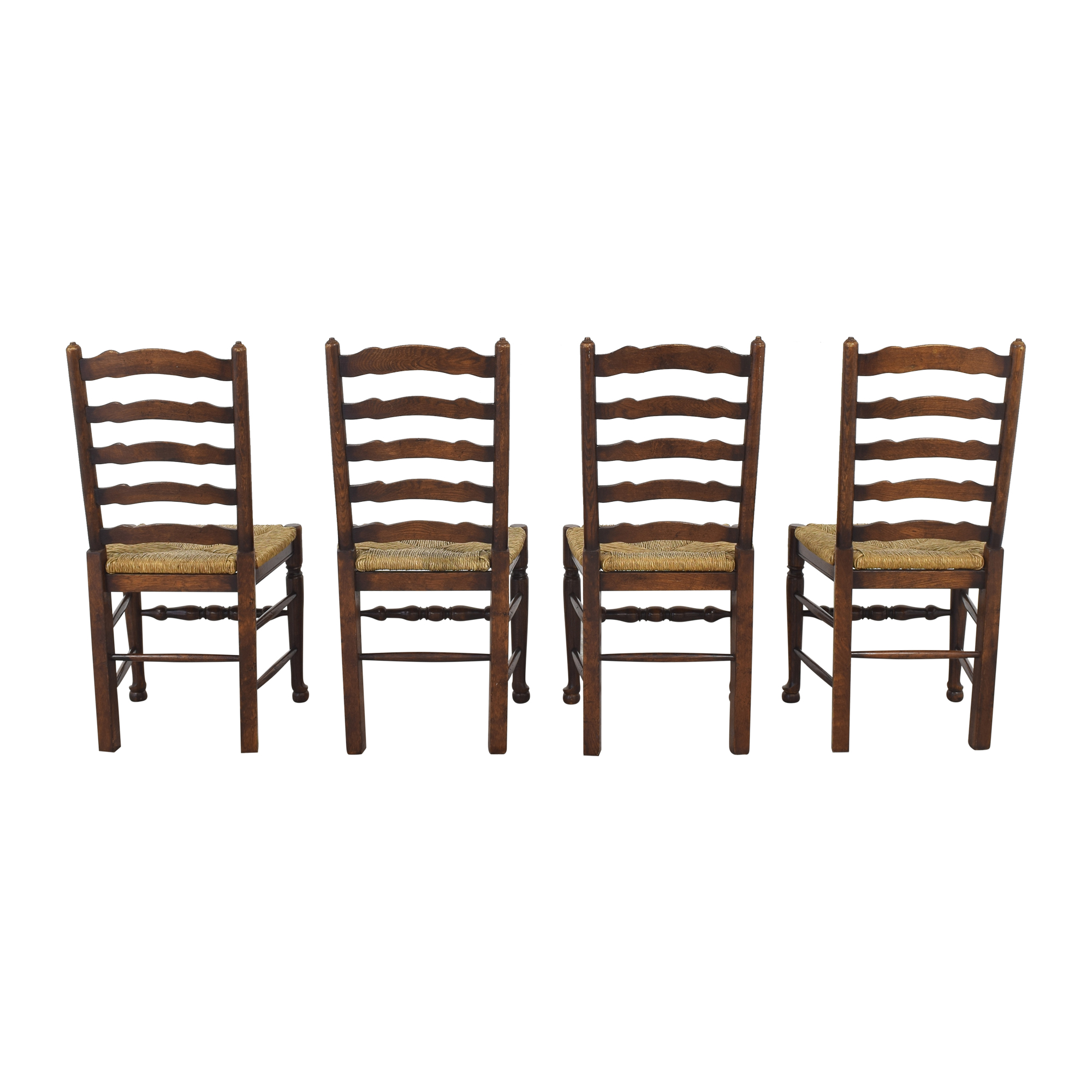 Pottery Barn Pottery Barn Ladder Back Dining Chairs dimensions
