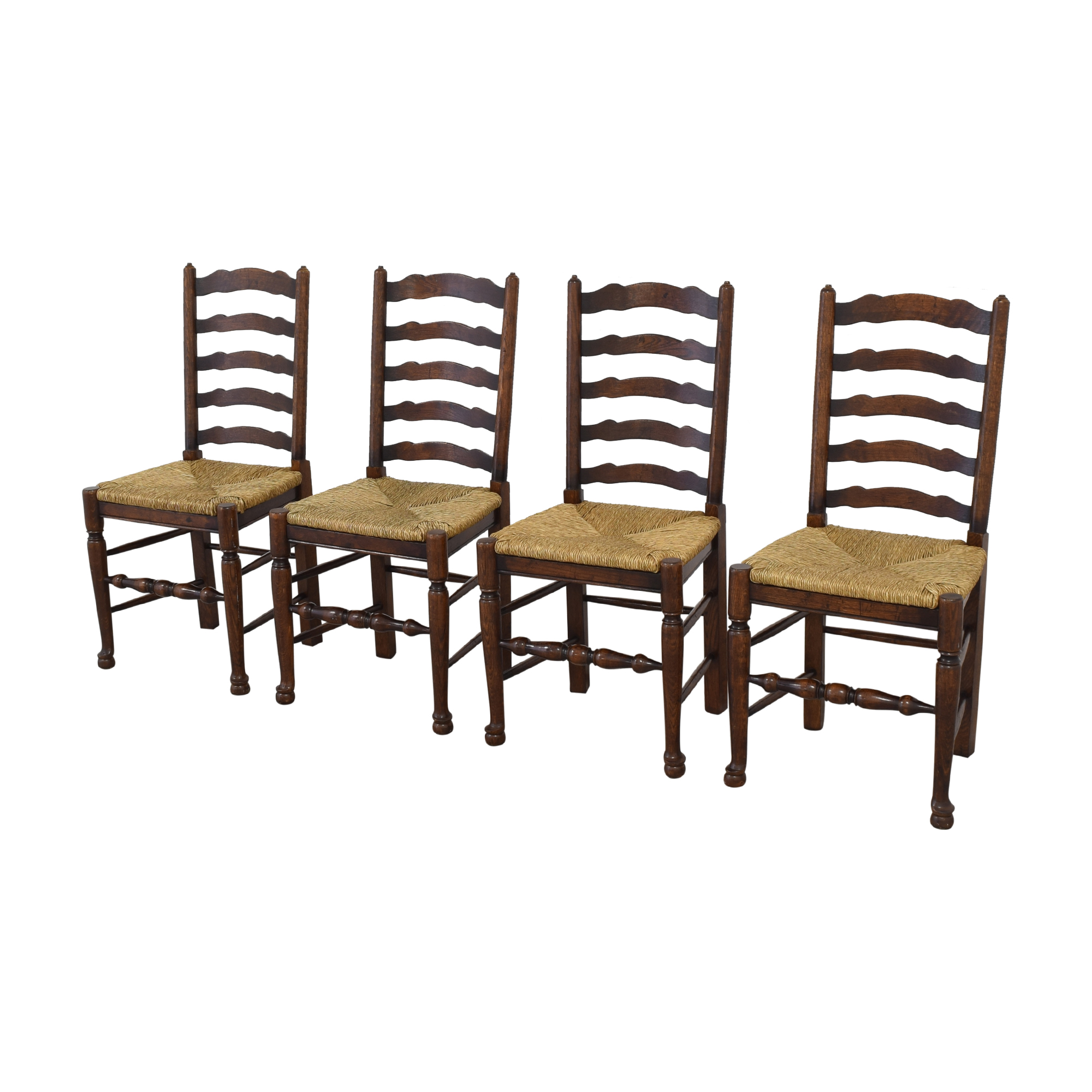 Pottery Barn Pottery Barn Ladder Back Dining Chairs