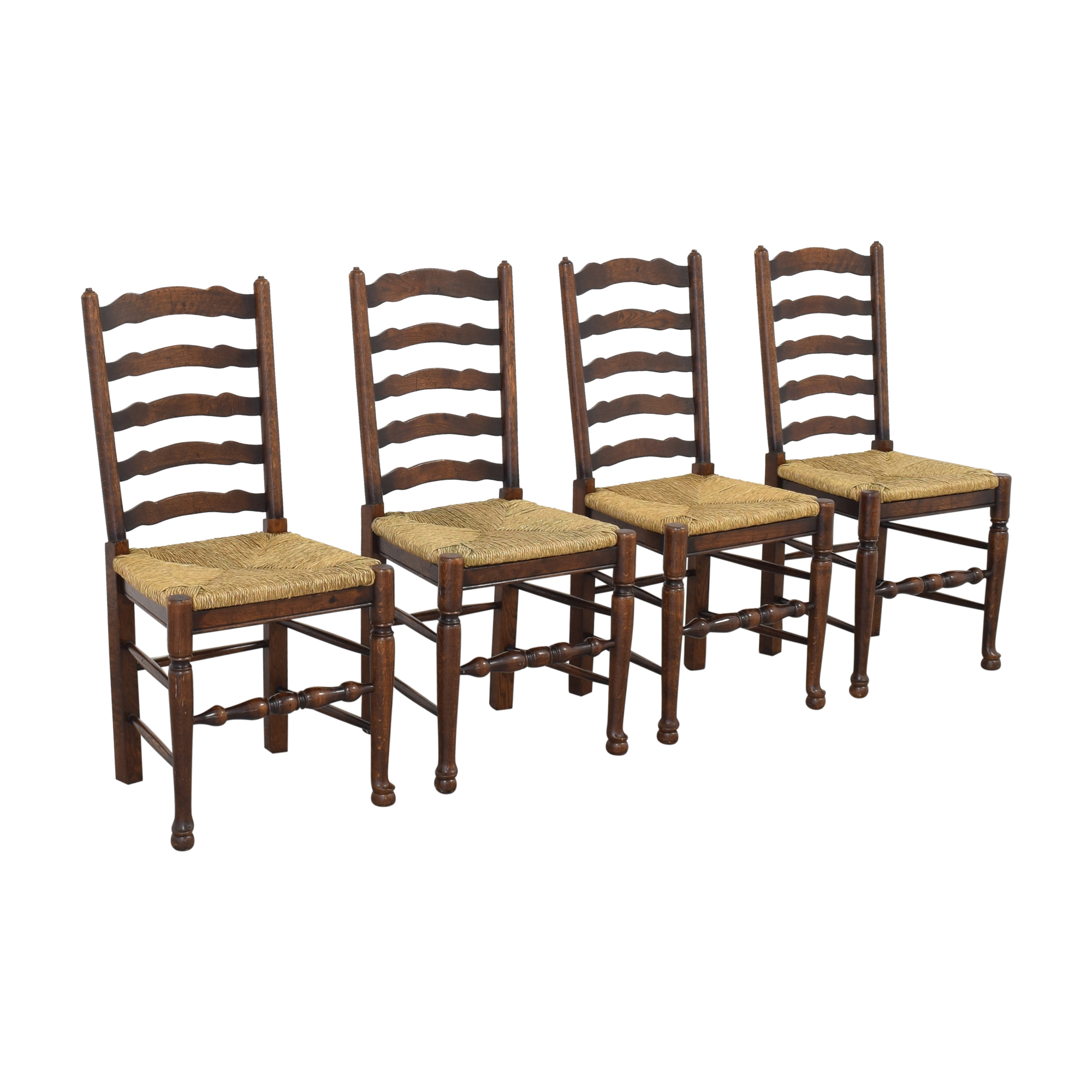 Pottery Barn Pottery Barn Ladder Back Dining Chairs on sale