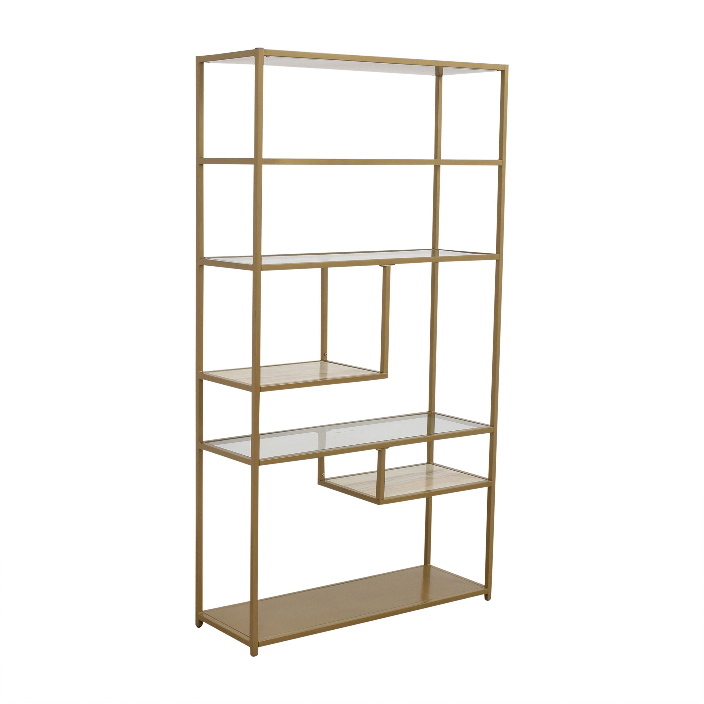 Wayfair Wayfair Foundstone Kit Geometric Bookcase Bookcases & Shelving