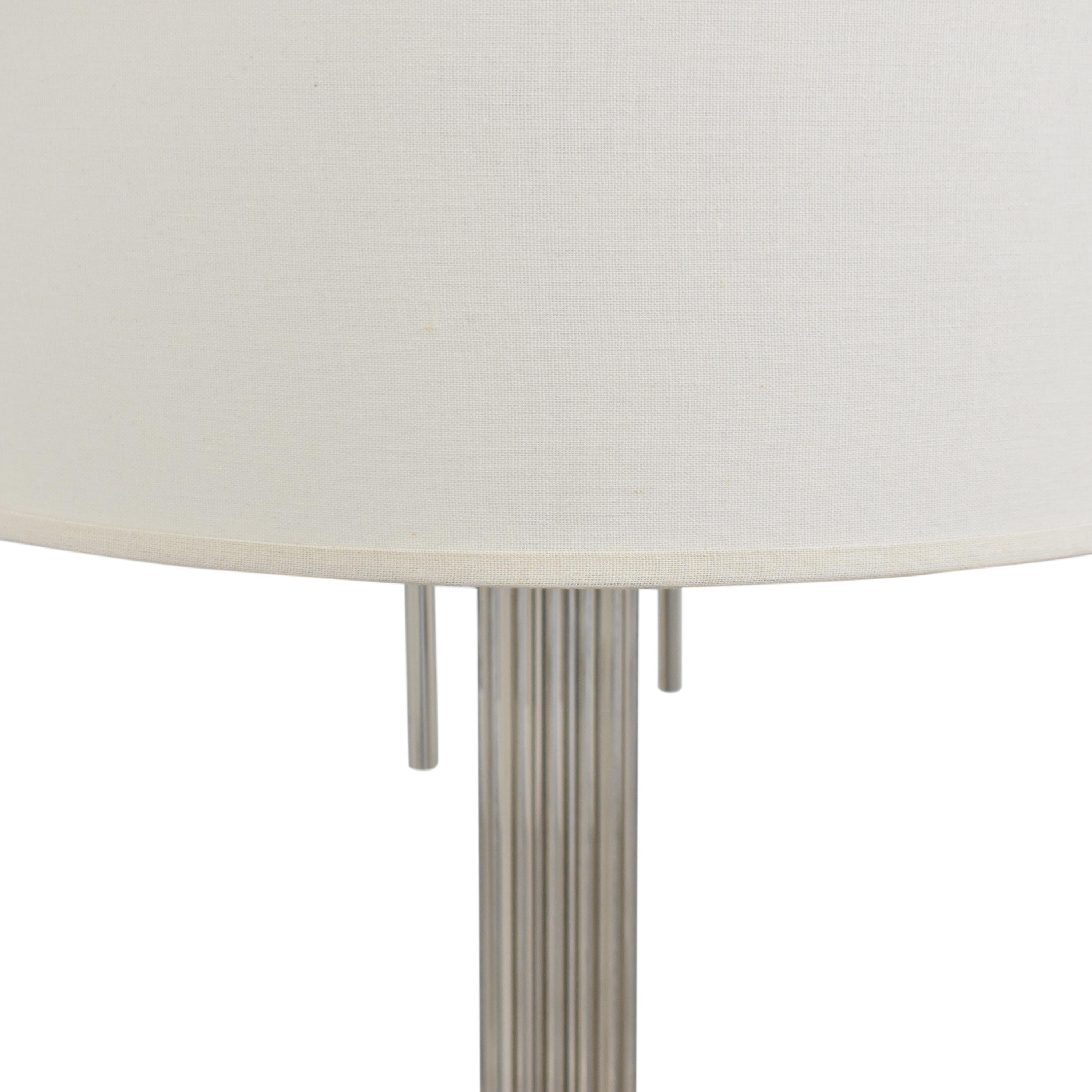 Restoration Hardware Restoration Hardware Davenport Table Lamp dimensions