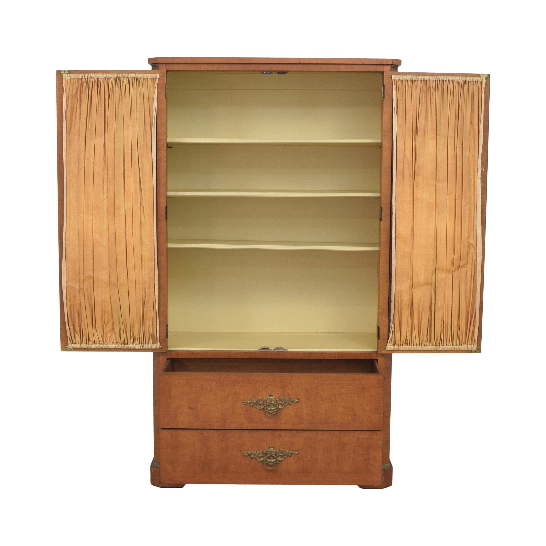 Henredon Furniture Henredon Lattice Door Armoire coupon