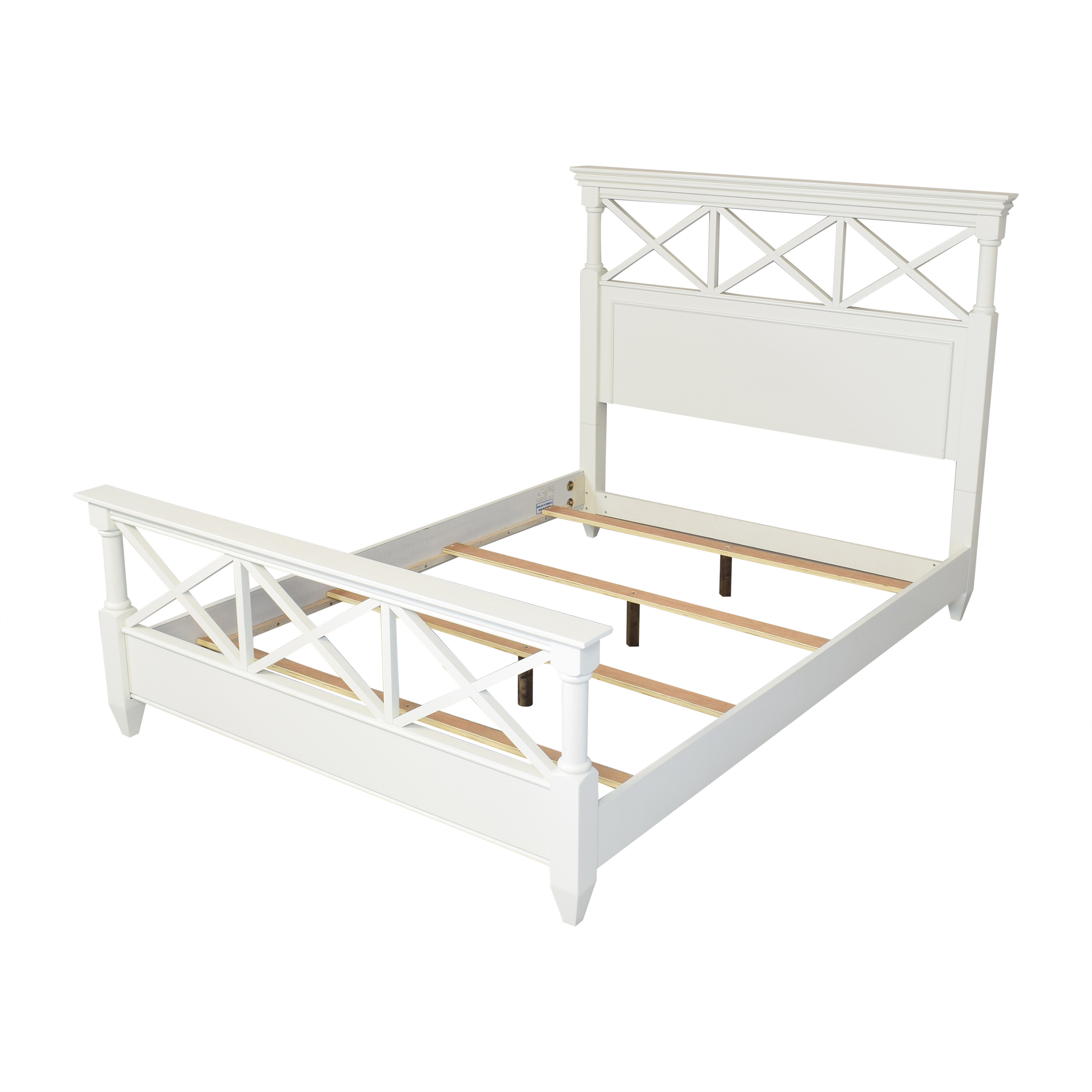 Raymour & Flanigan Raymour & Flanigan Retreat Queen Bed discount