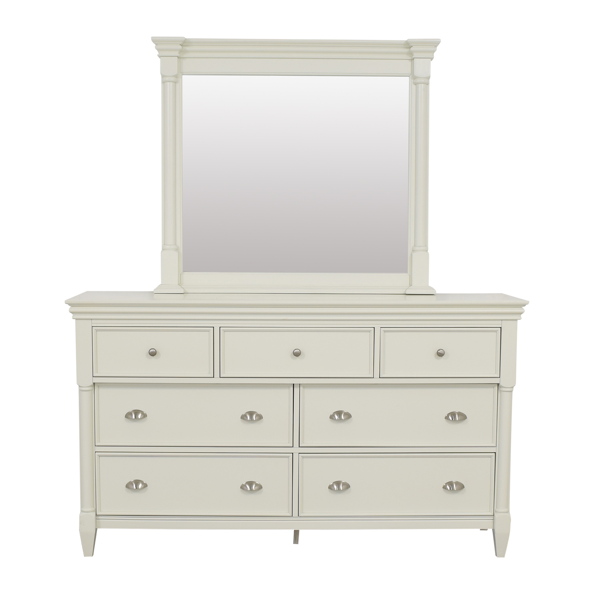 Raymour & Flanigan Raymour & Flanigan Retreat Bedroom Dresser with Mirror for sale