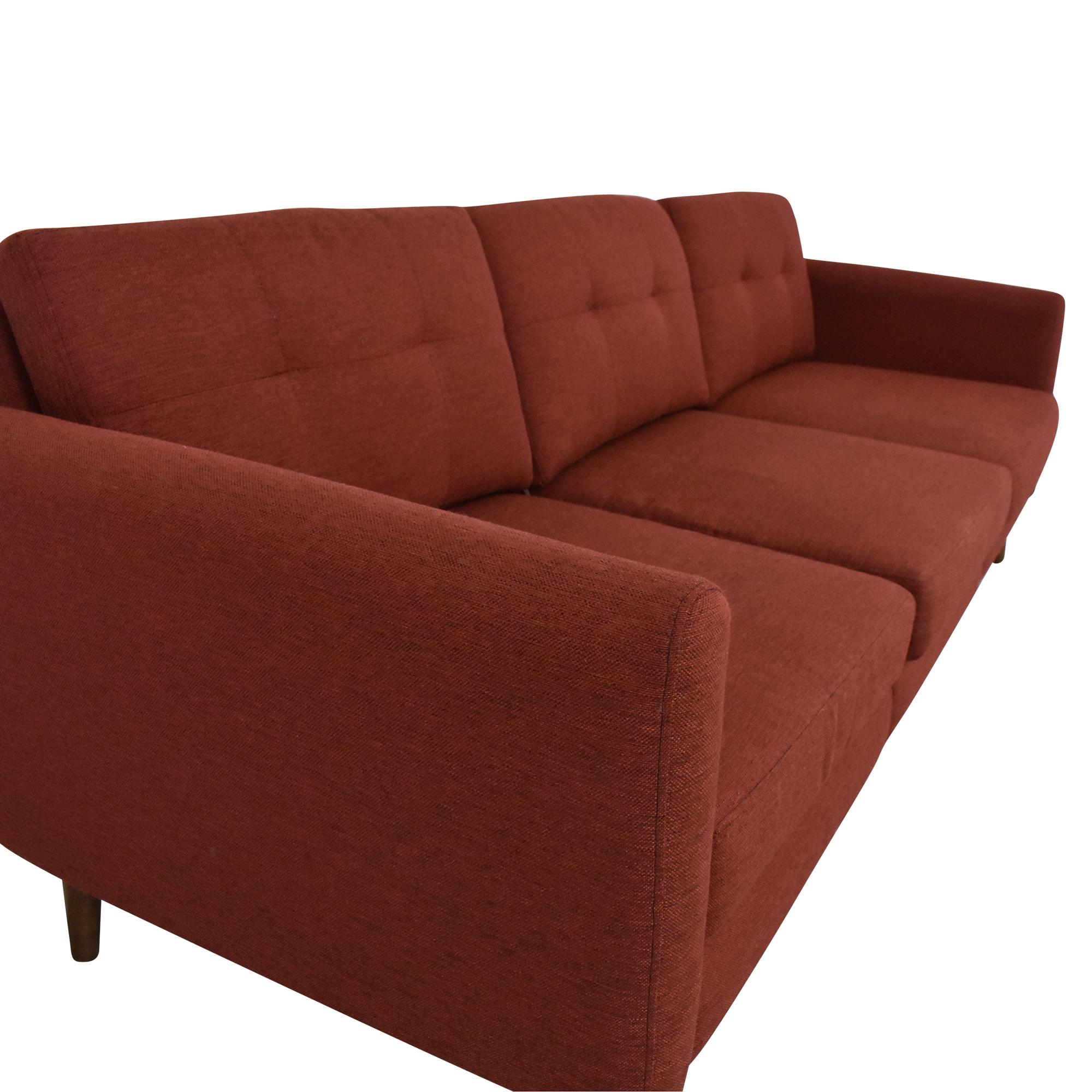 Burrow Burrow Block Nomad Sofa with Ottoman price